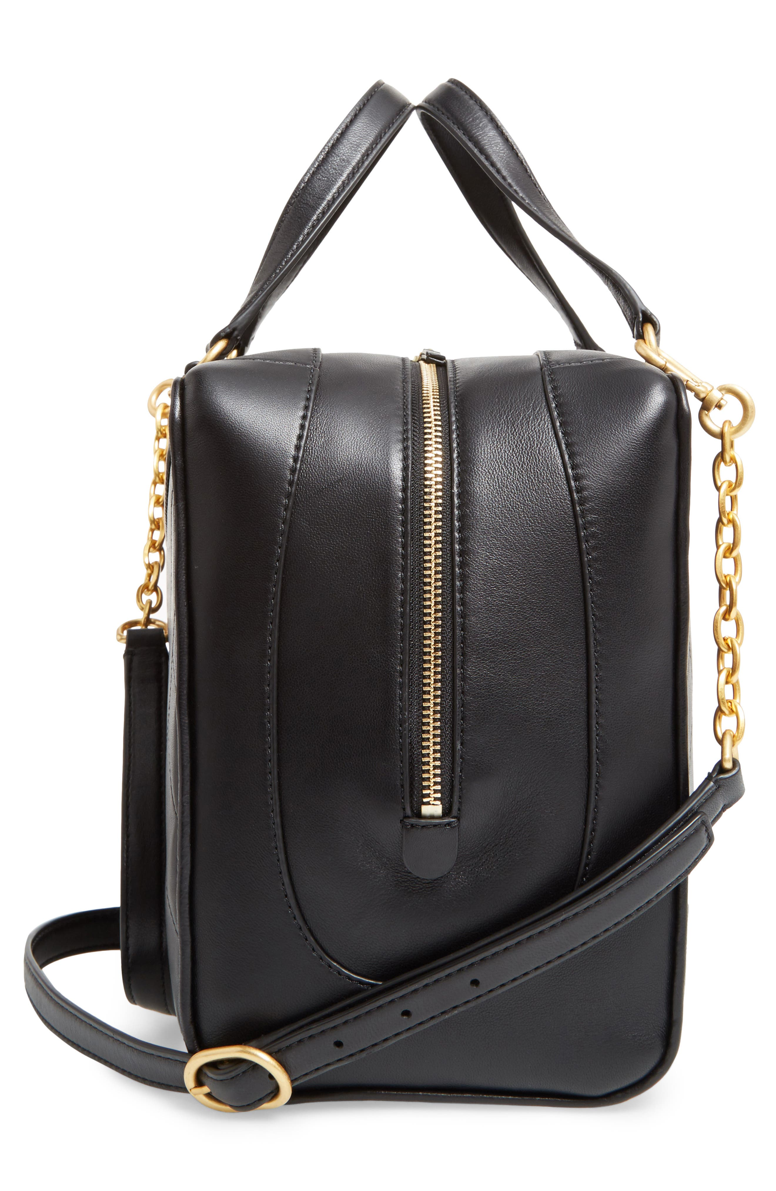 Alternate Image 5  - Tory Burch Chevron Quilted Leather Satchel
