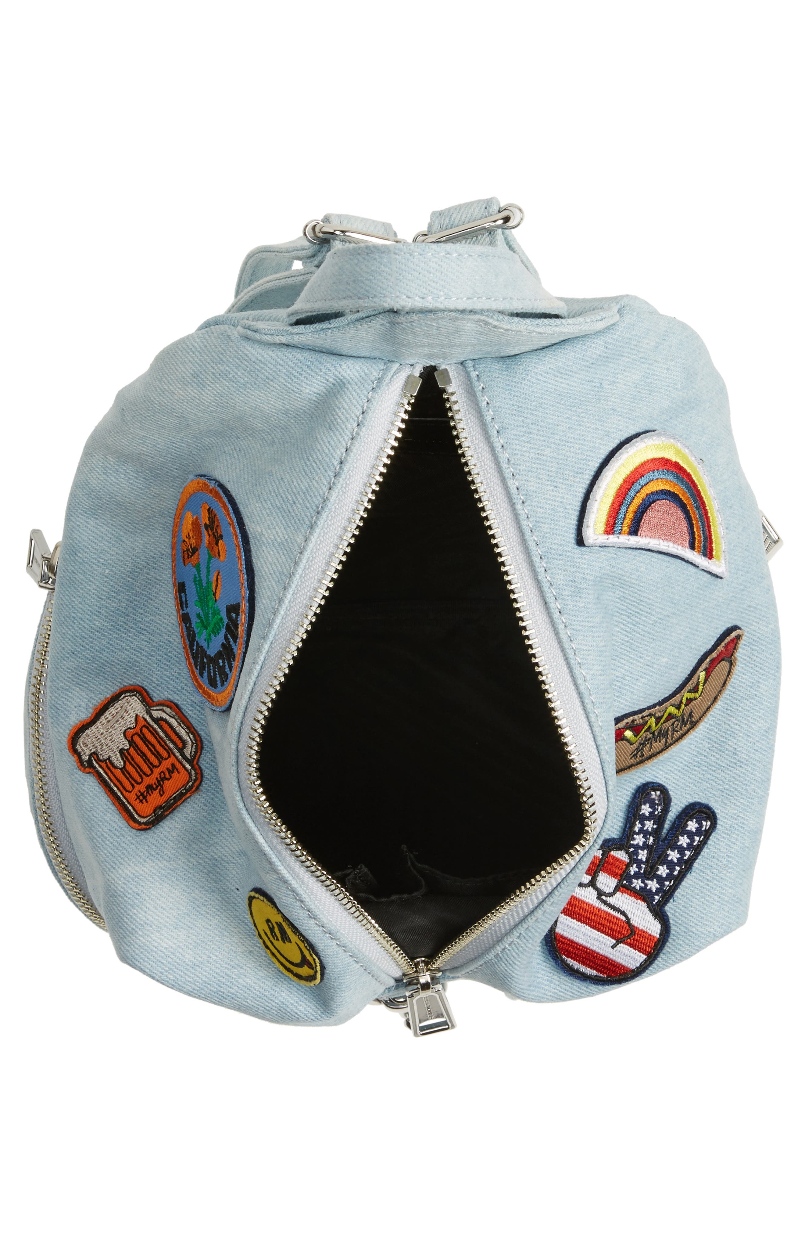 Alternate Image 4  - Rebecca Minkoff Medium Julian Patchwork Backpack