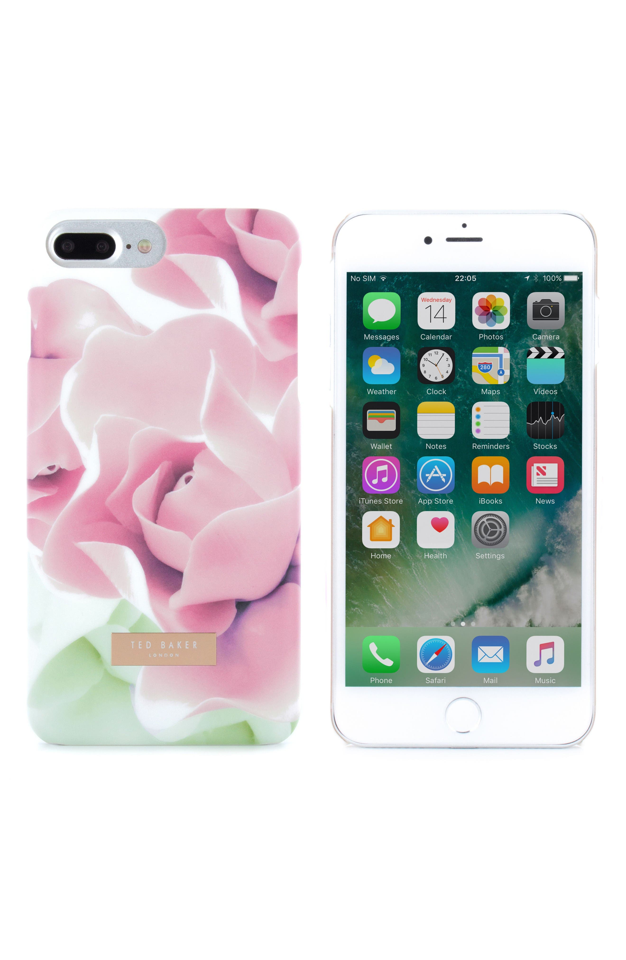 Alternate Image 2  - Ted Baker London Anotei Rose iPhone 6/6s/7/8 & 6/6s/7/8 Plus Case