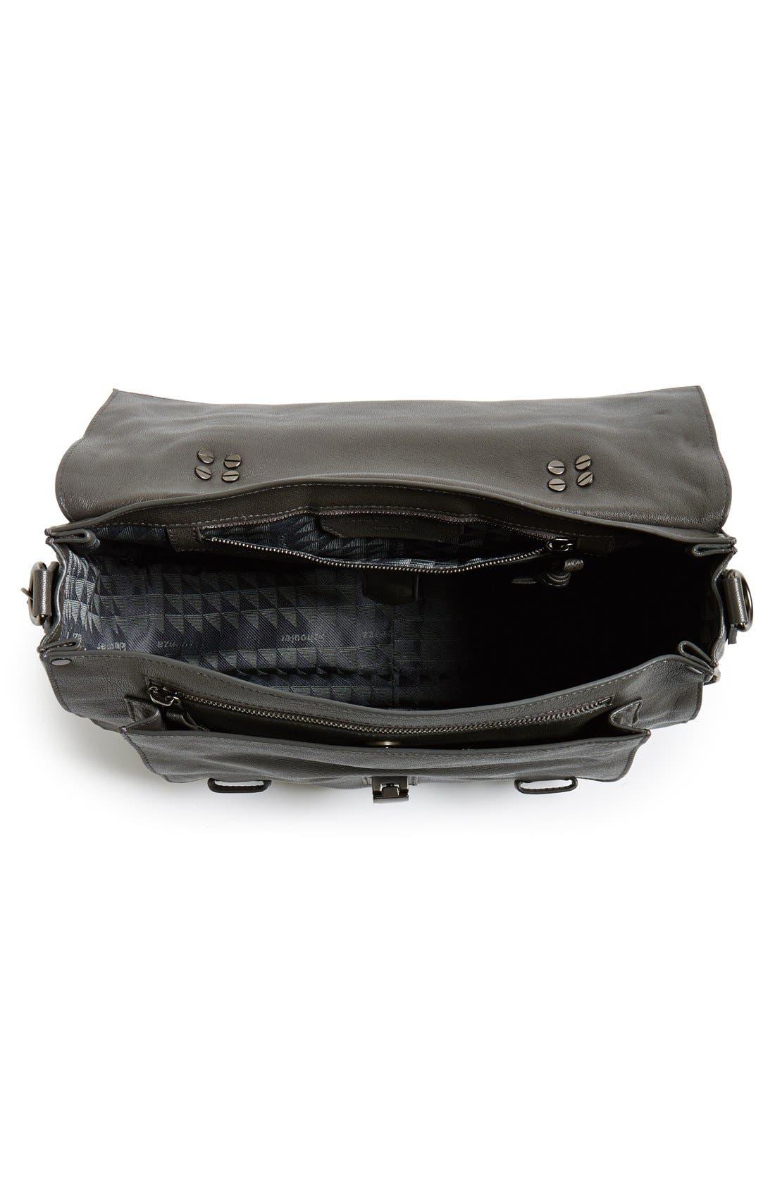 Alternate Image 2  - Proenza Schouler 'Medium PS1' Fringed Leather Satchel