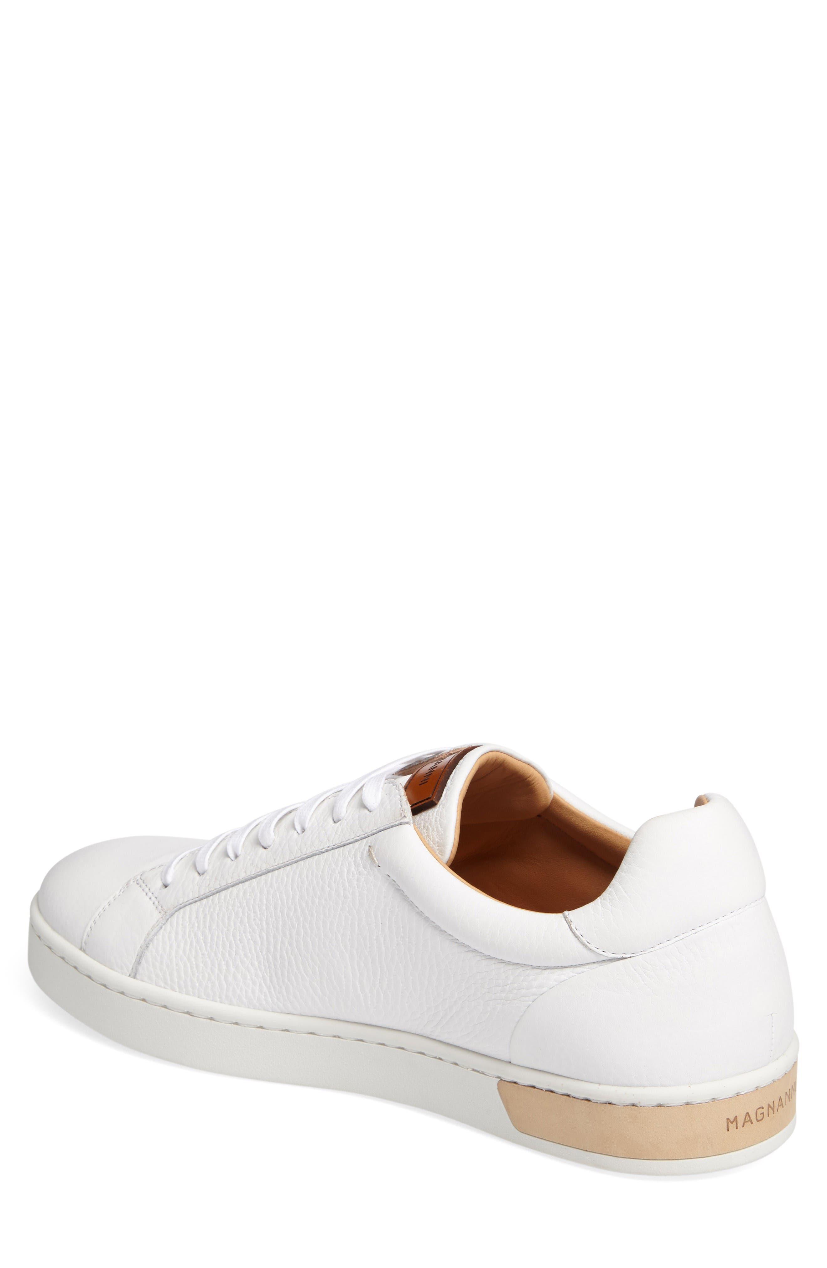 Caballero Sneaker,                             Alternate thumbnail 2, color,                             White Leather