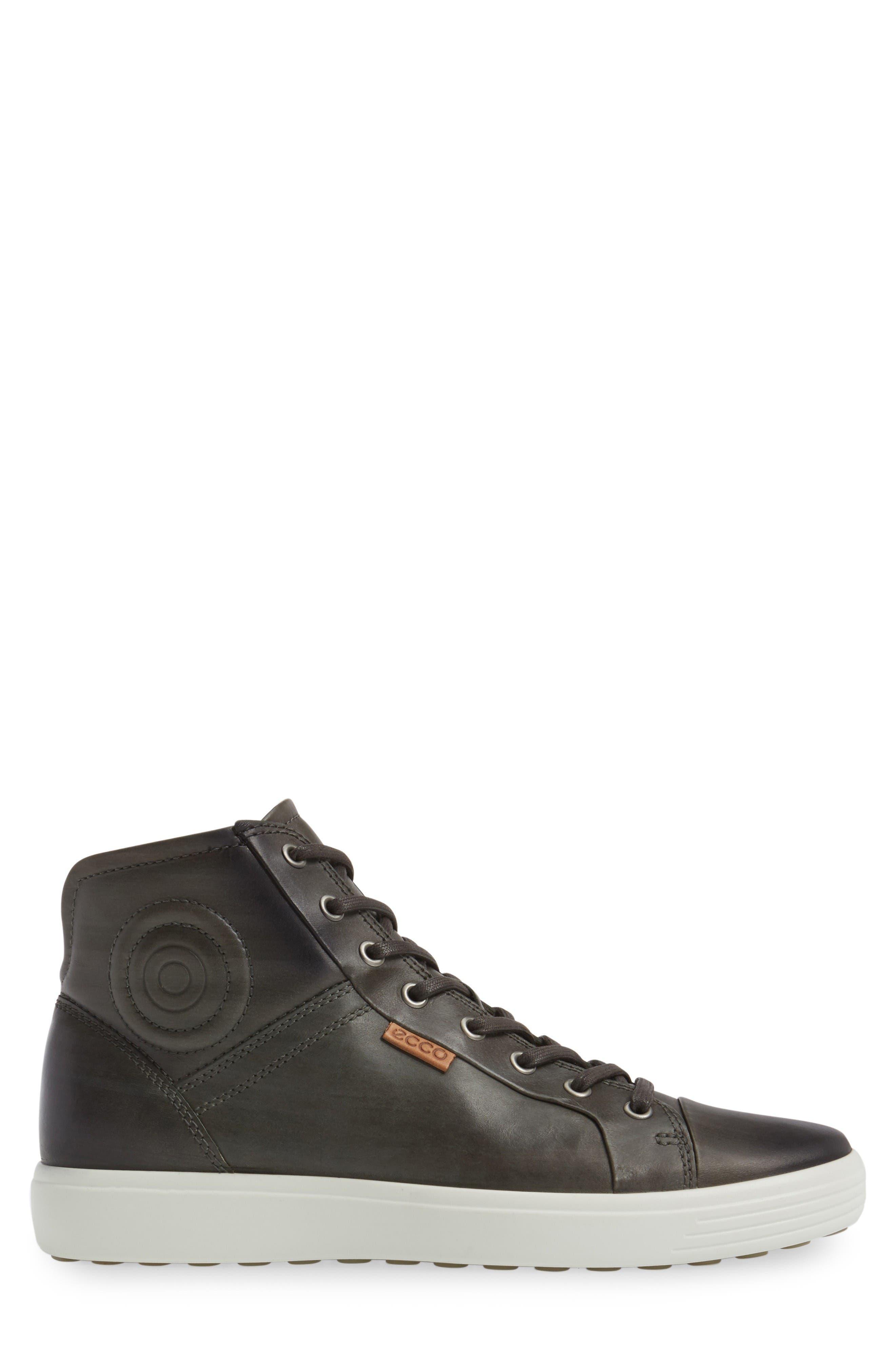 Alternate Image 3  - ECCO Soft 7 High Top Sneaker (Men)