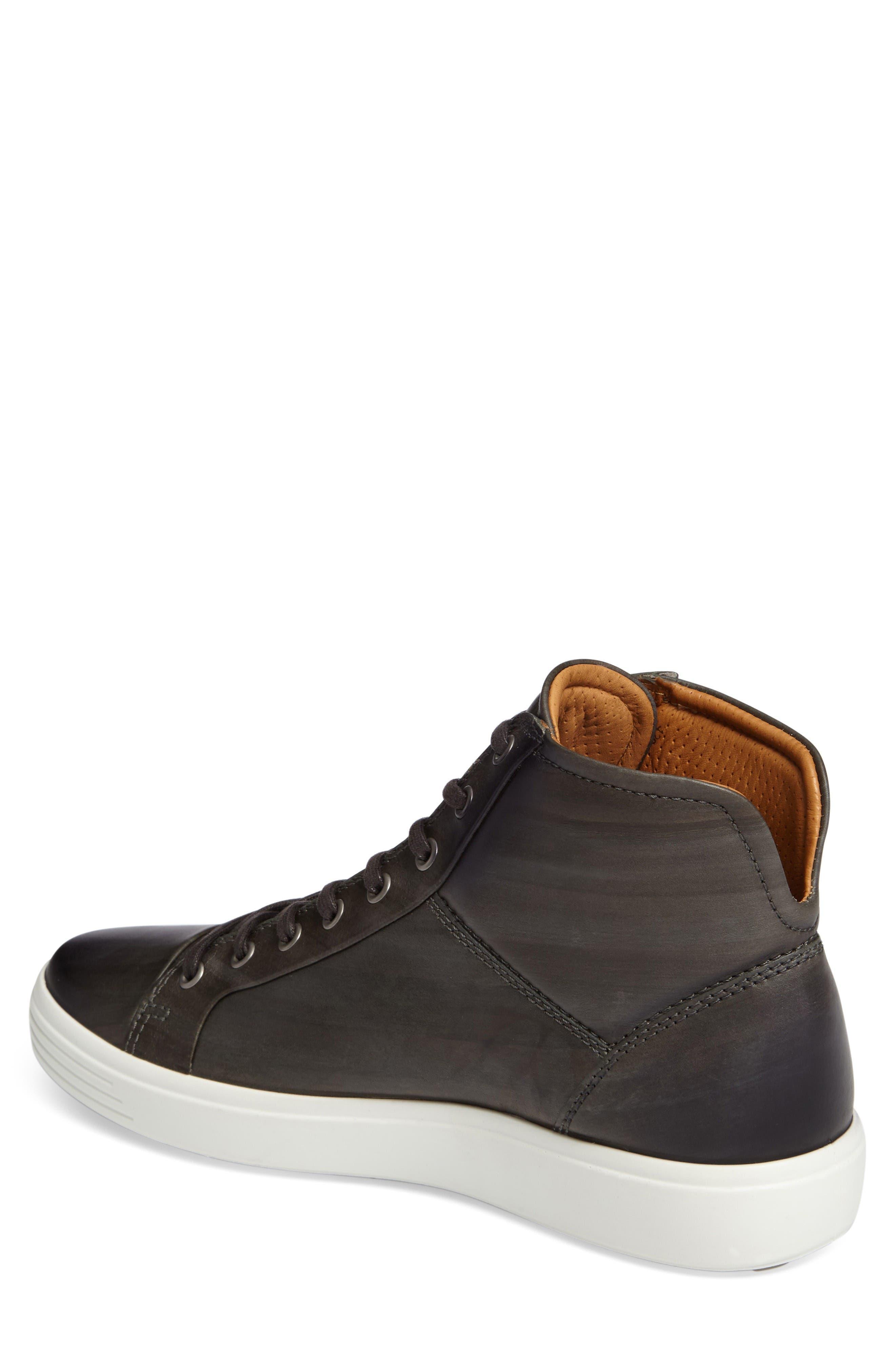Alternate Image 2  - ECCO Soft 7 High Top Sneaker (Men)