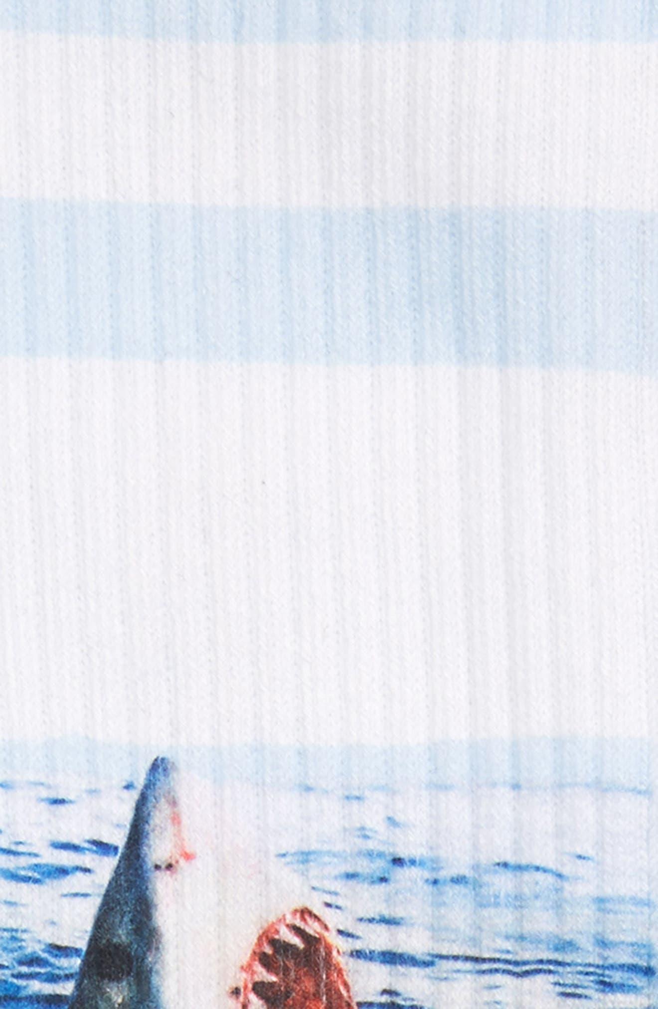 Alternate Image 2  - Stance Landlord Shark Socks