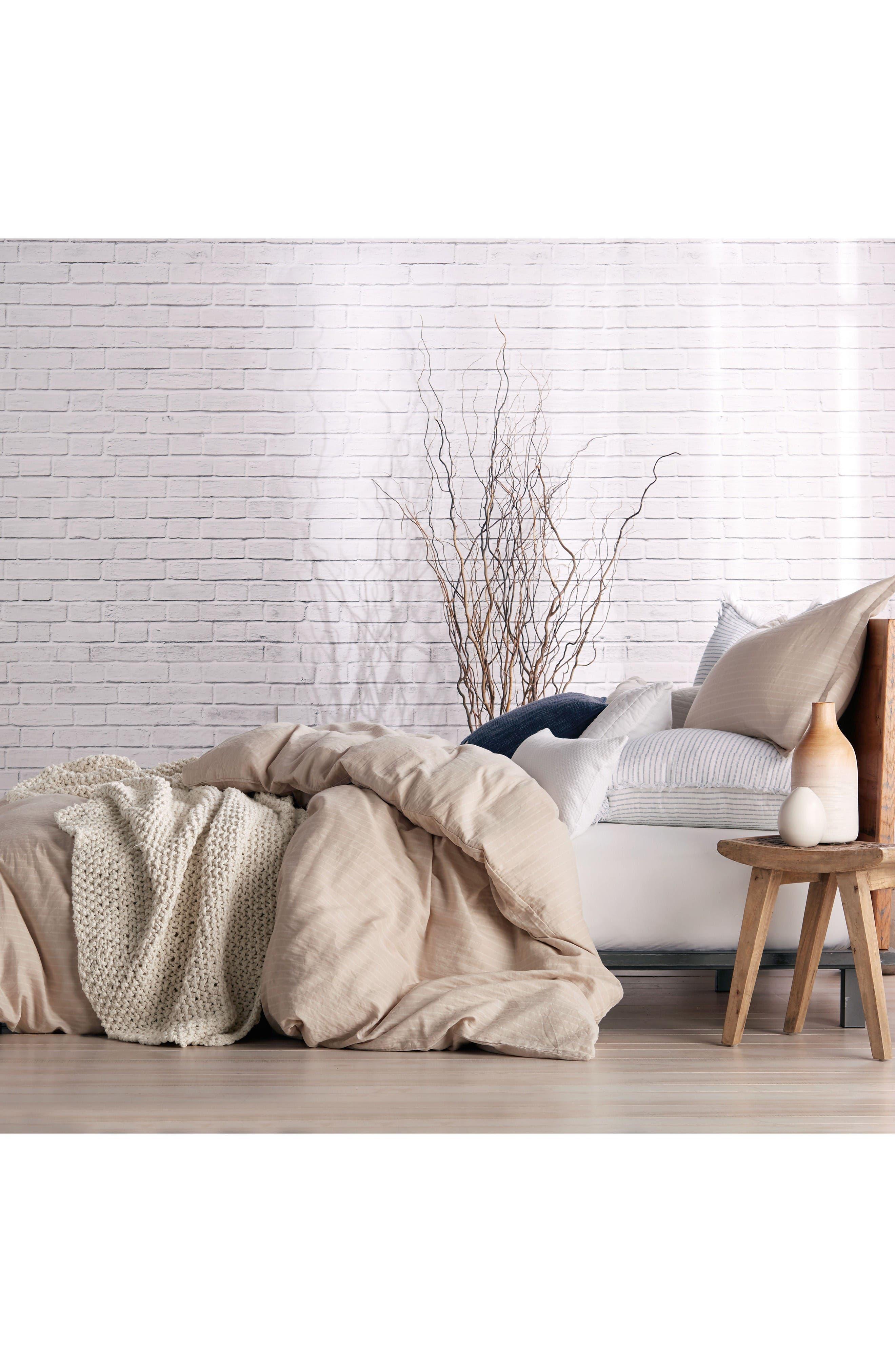 PURE Comfy Duvet Cover,                             Alternate thumbnail 2, color,                             Linen