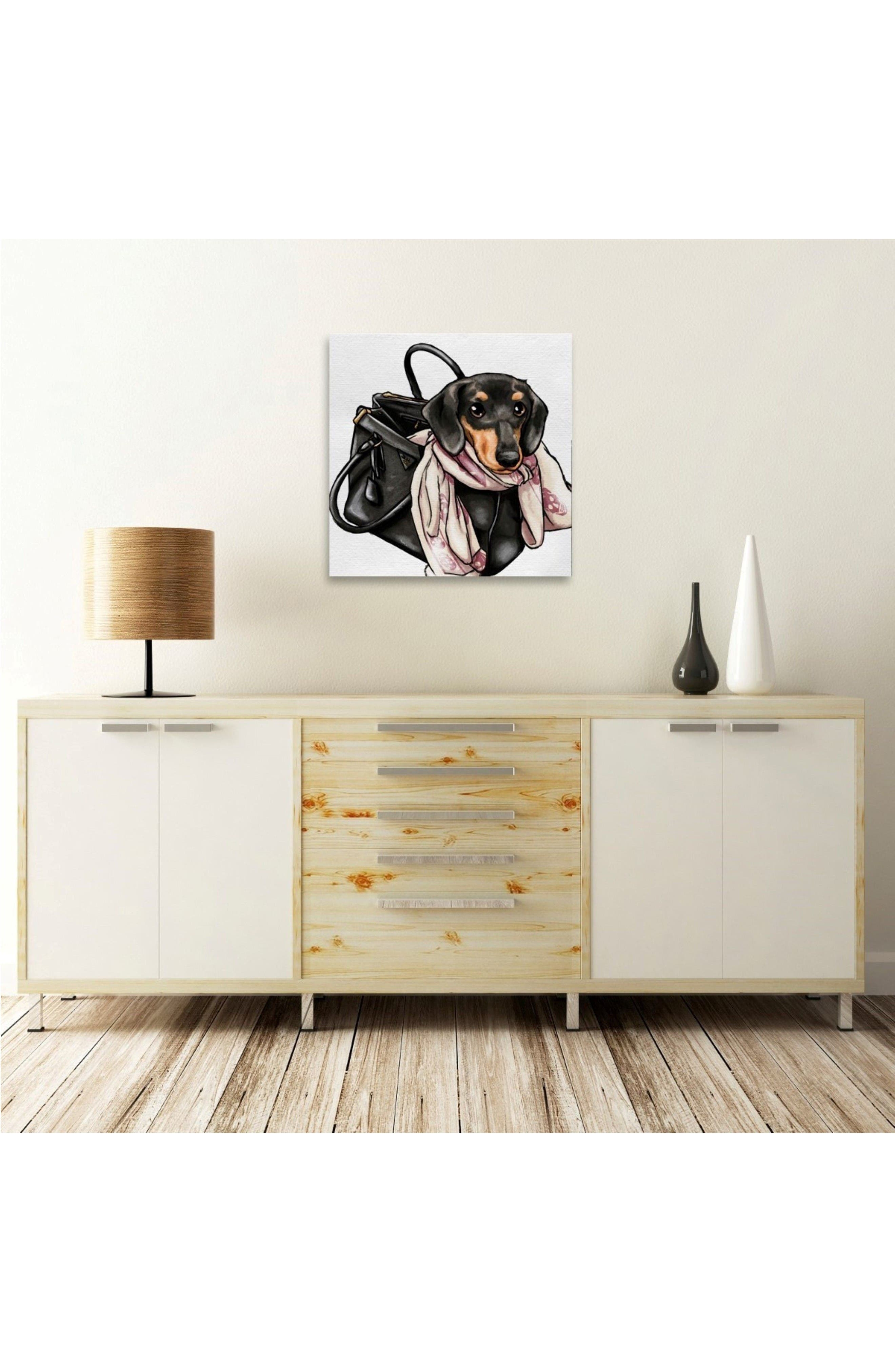 Alternate Image 2  - Oliver Gal Most Favorite Companion Canvas Wall Art