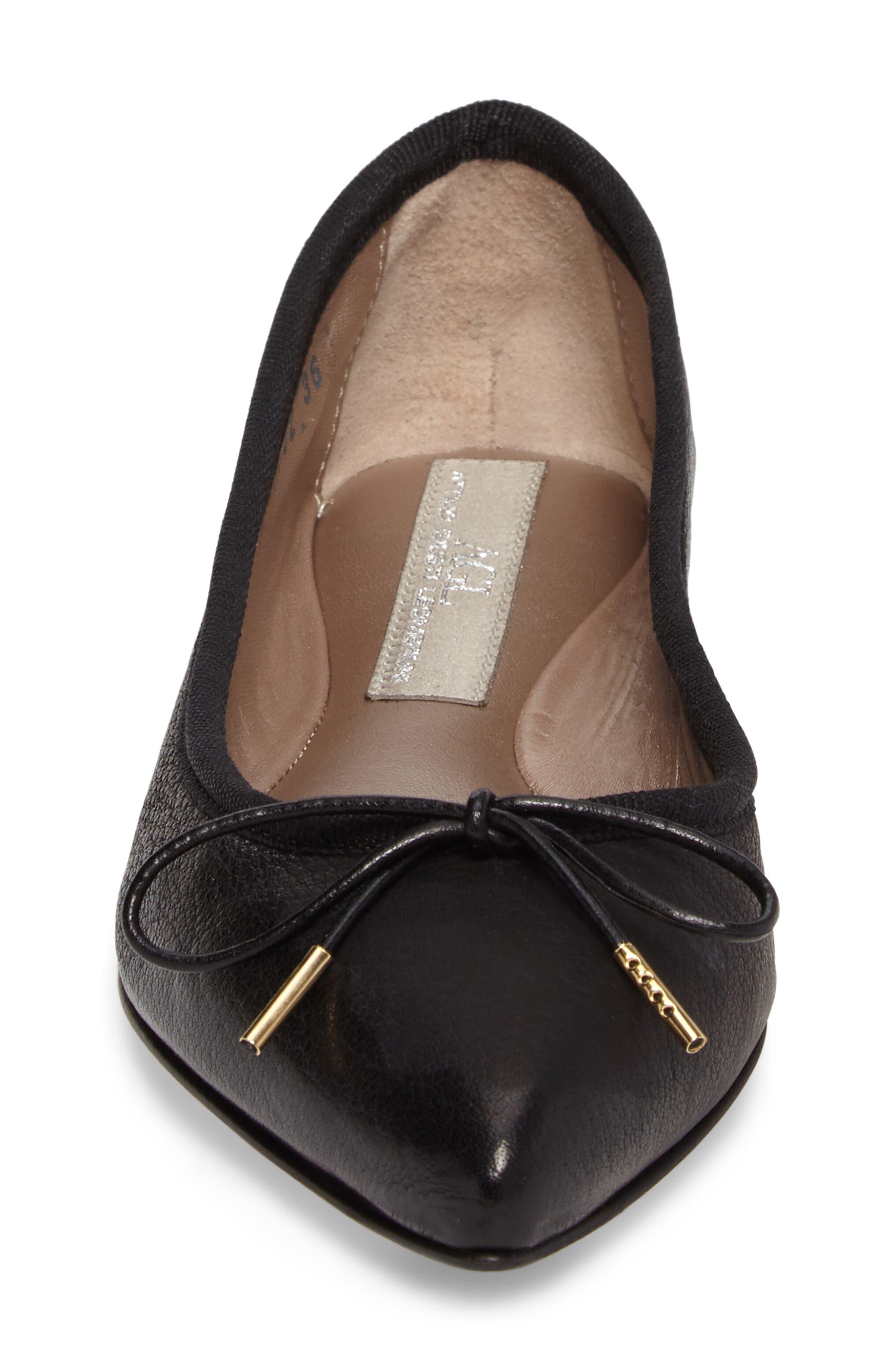 Alternate Image 4  - AGL Sacchetto Pointy Toe Flat (Women)