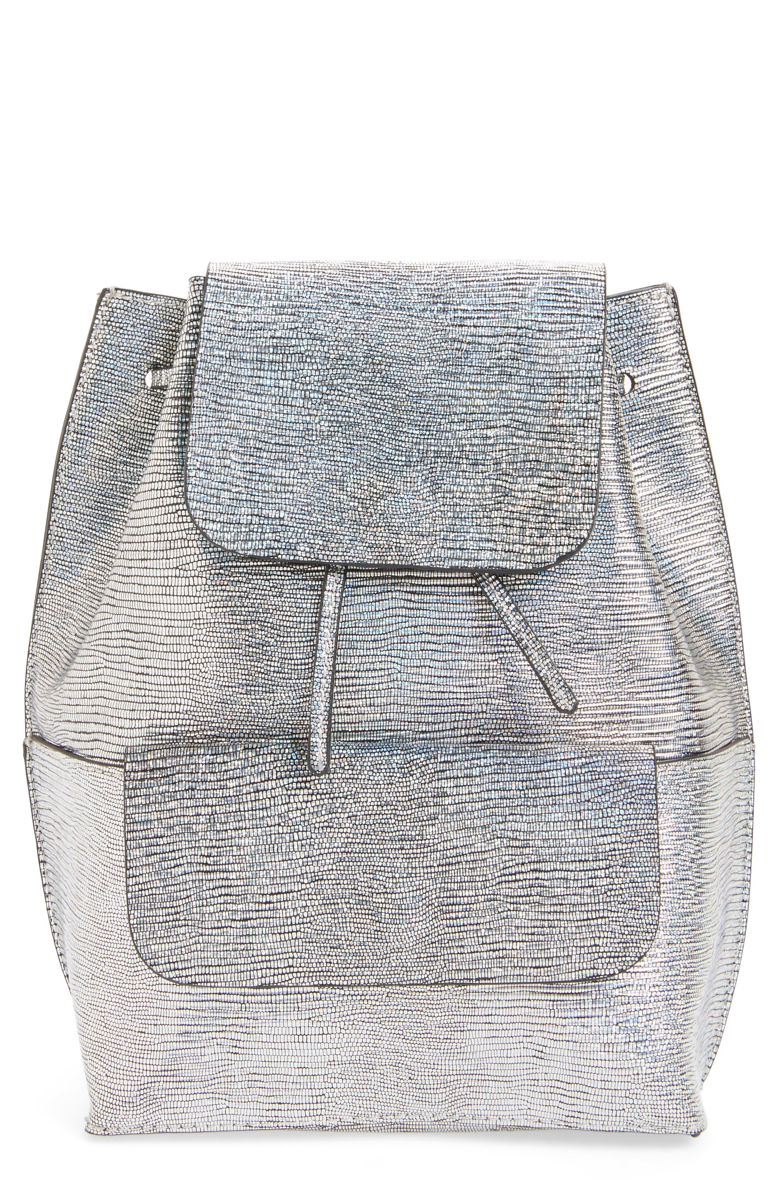 Main Image - Street Level Flap Pocket Backpack