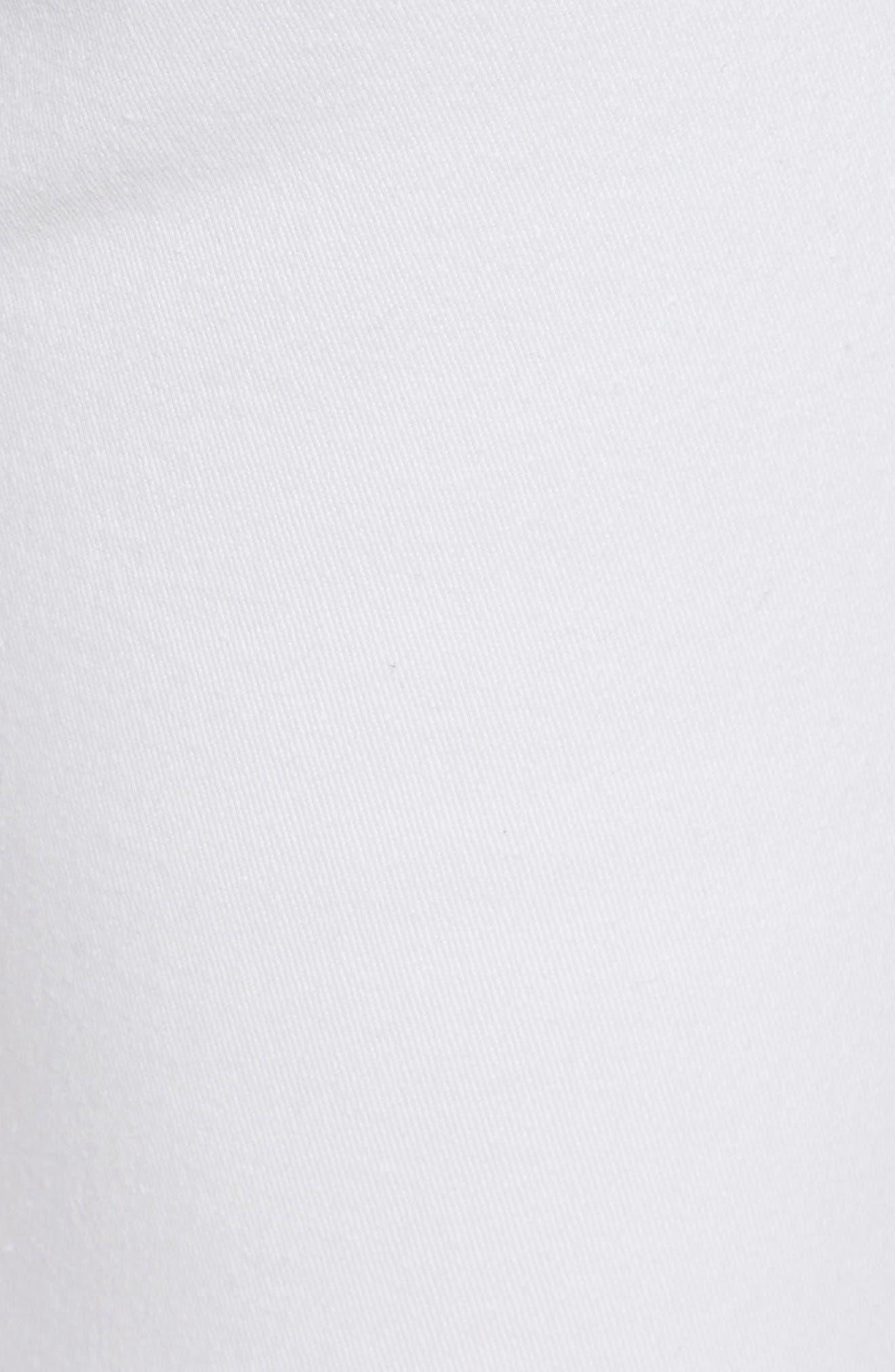 Izzy Ankle Skinny Jeans,                             Alternate thumbnail 5, color,                             White