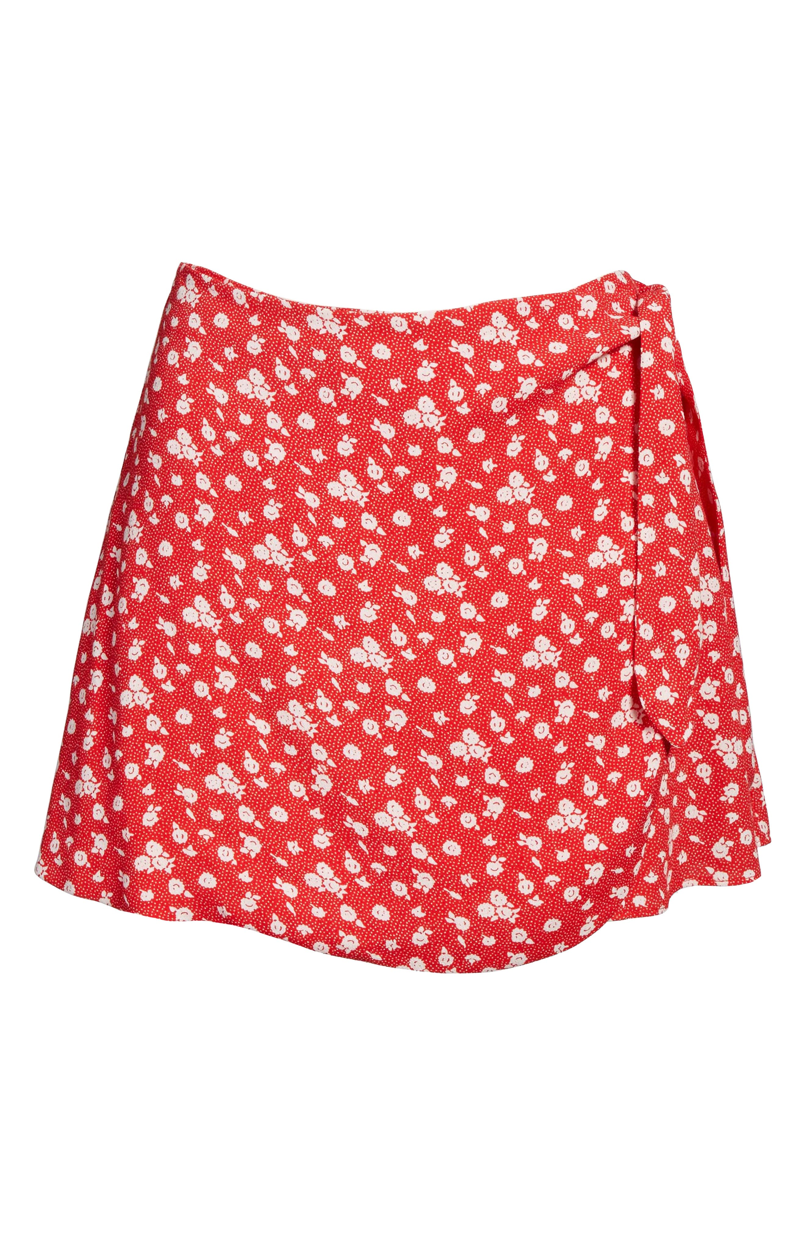 Alternate Image 8  - Privacy Please Emory High Waist Wrap Skort
