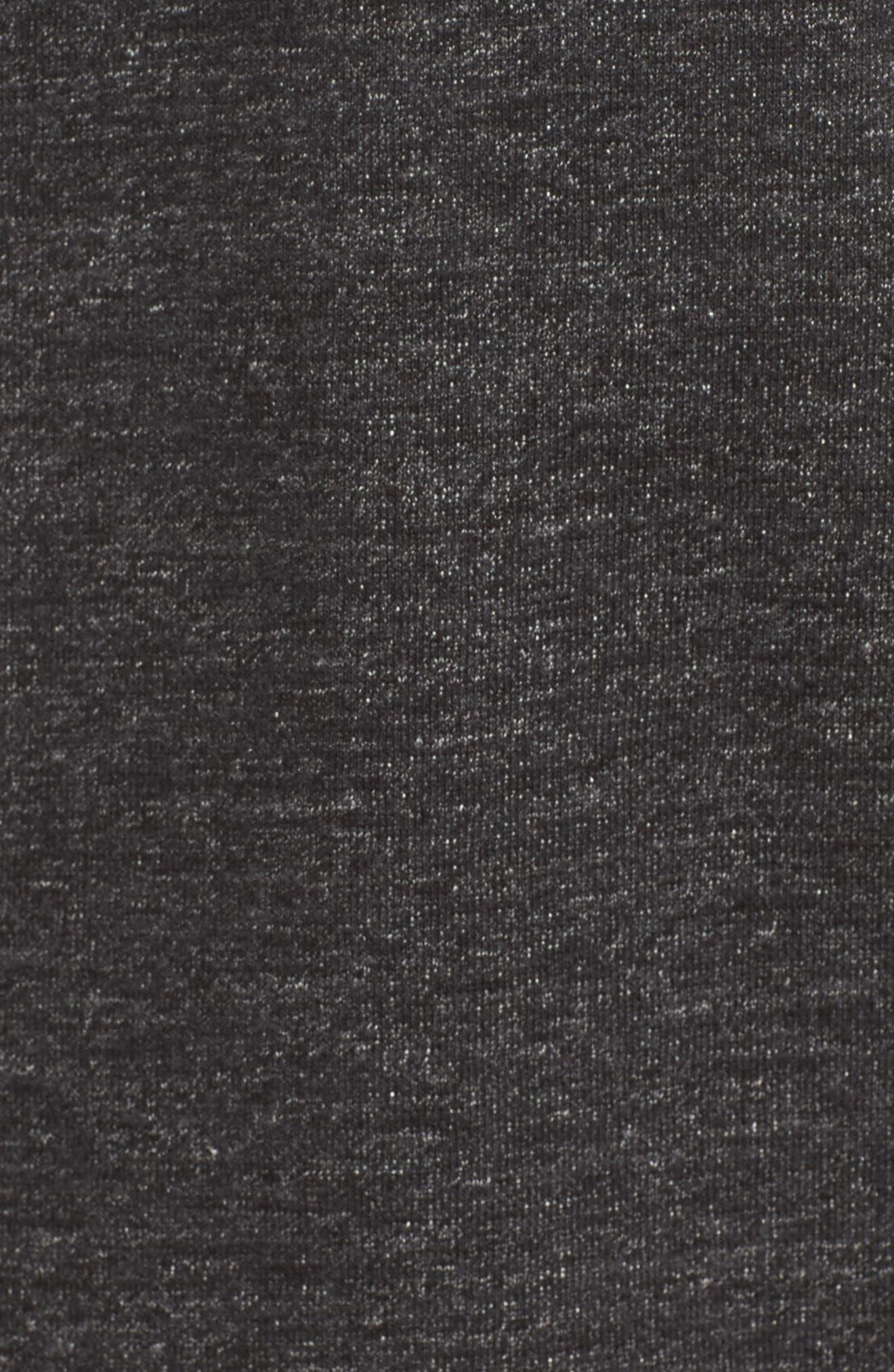 Alternate Image 5  - Nike Legacy Raglan Crewneck Sweatshirt