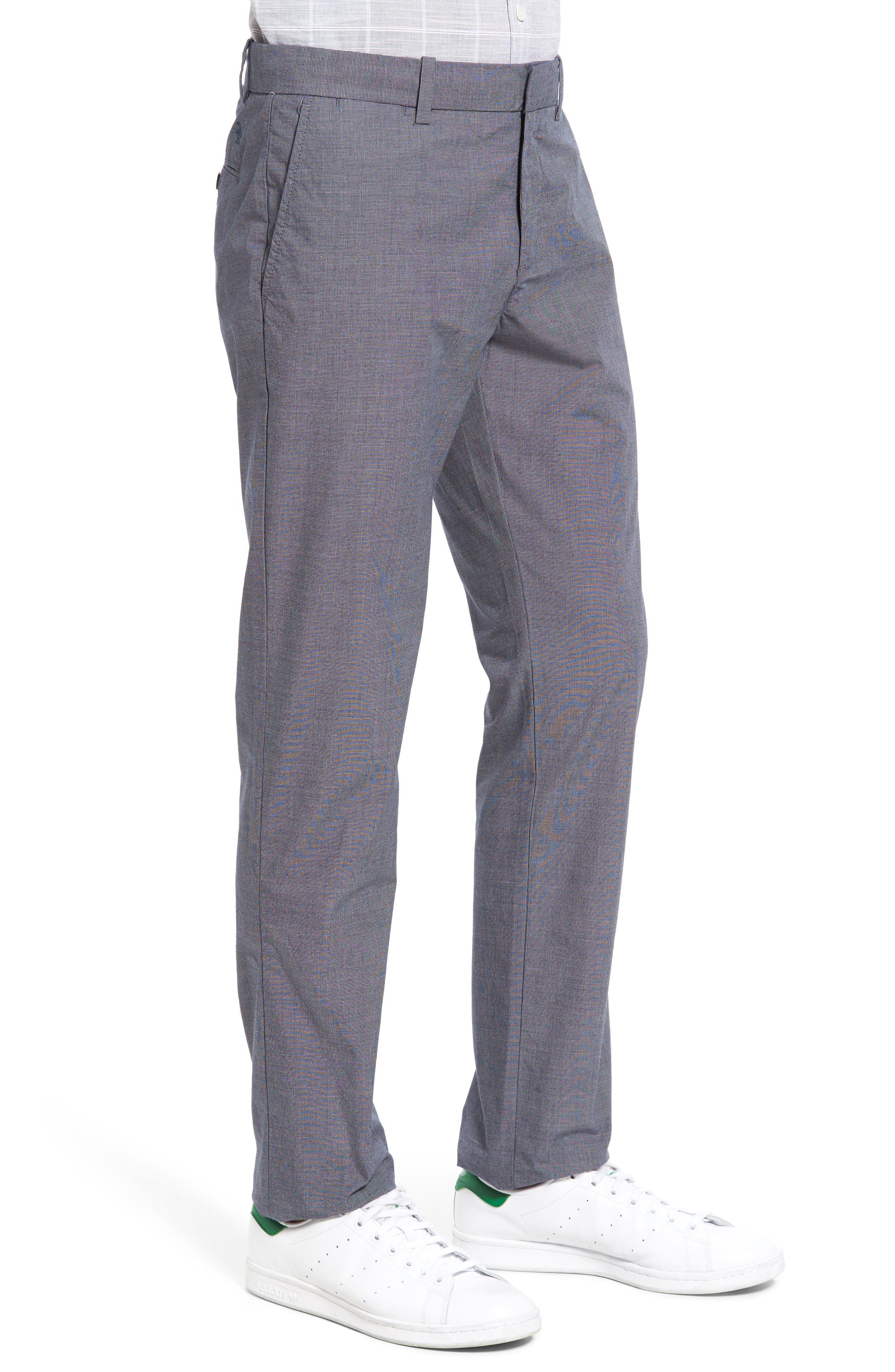 Alternate Image 3  - Original Penguin Crosshatch Slub Trousers