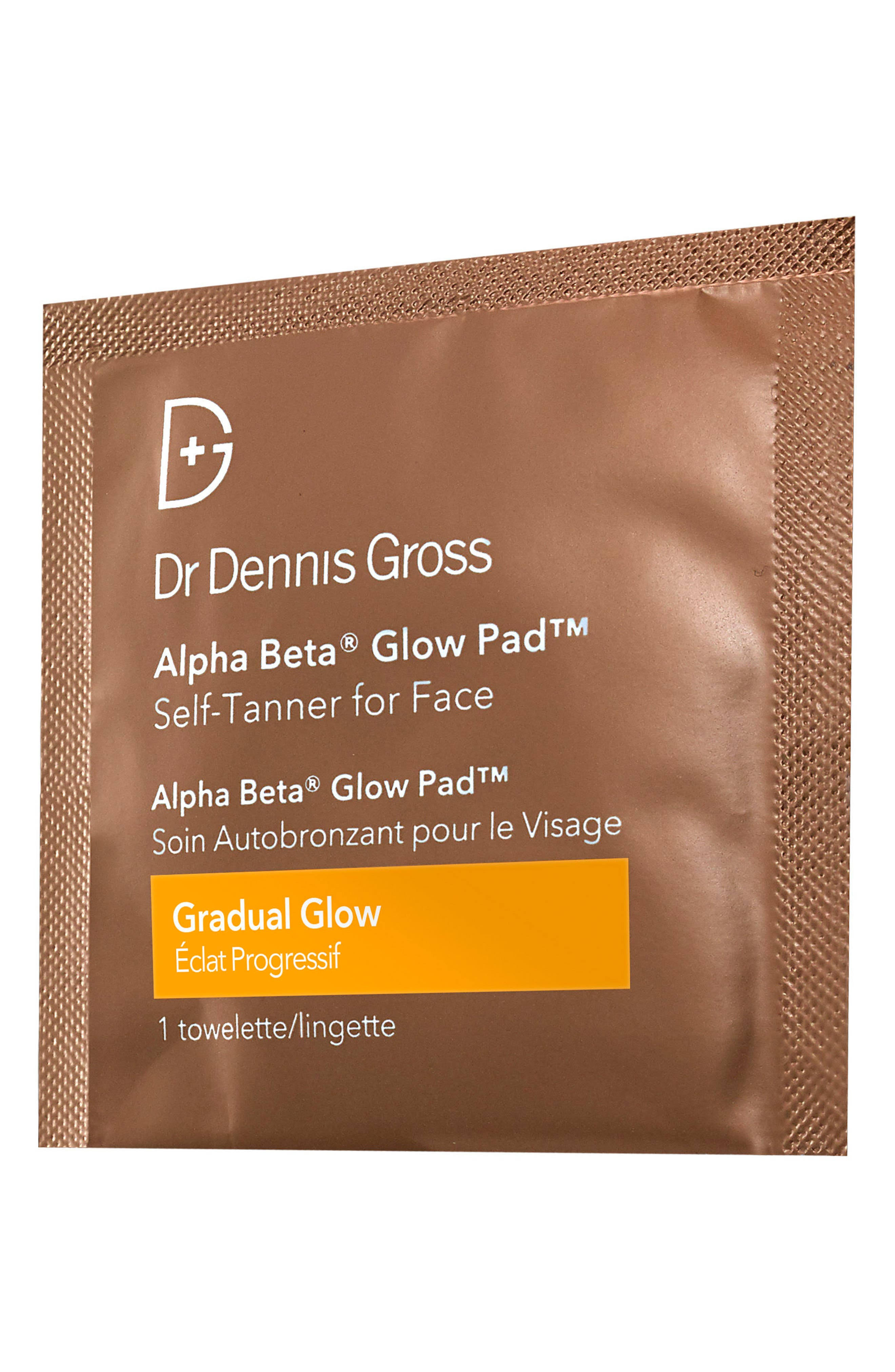 Alternate Image 2  - Dr. Dennis Gross Skincare Alpha Beta® Gradual Glow Pad Self-Tanner for Face