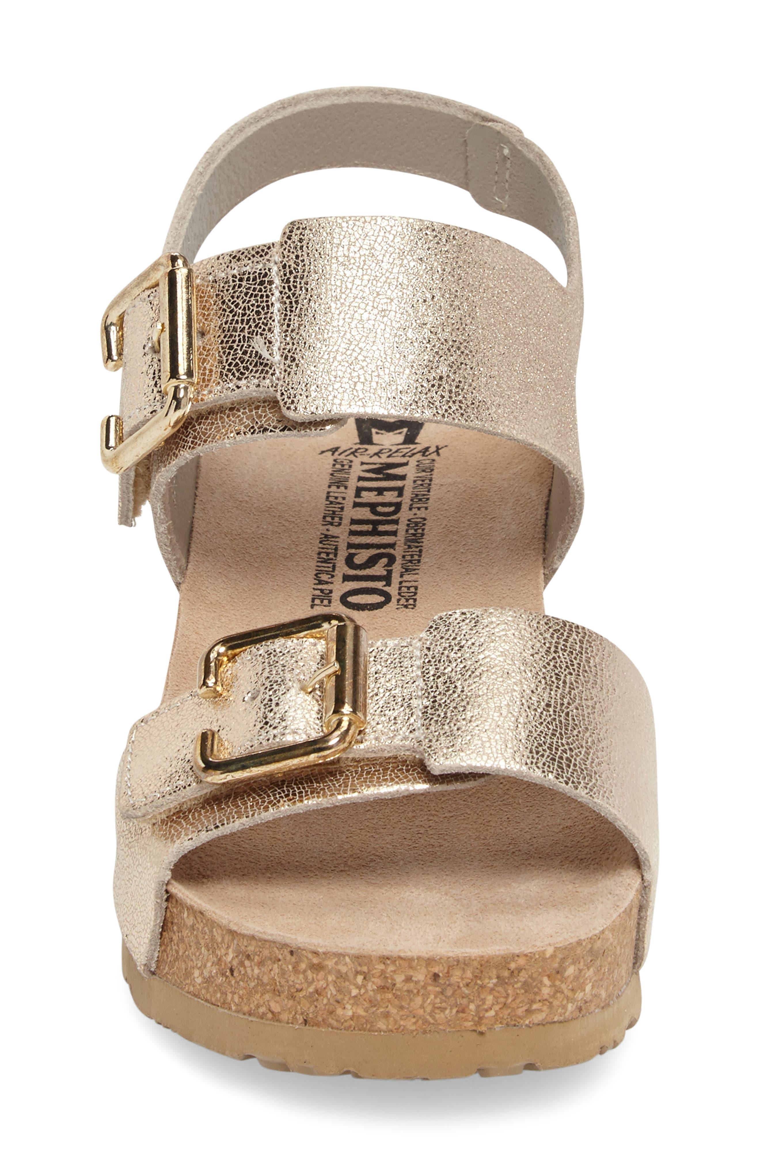 Alternate Image 4  - Mephisto Lissandra Platform Wedge Sandal (Women)