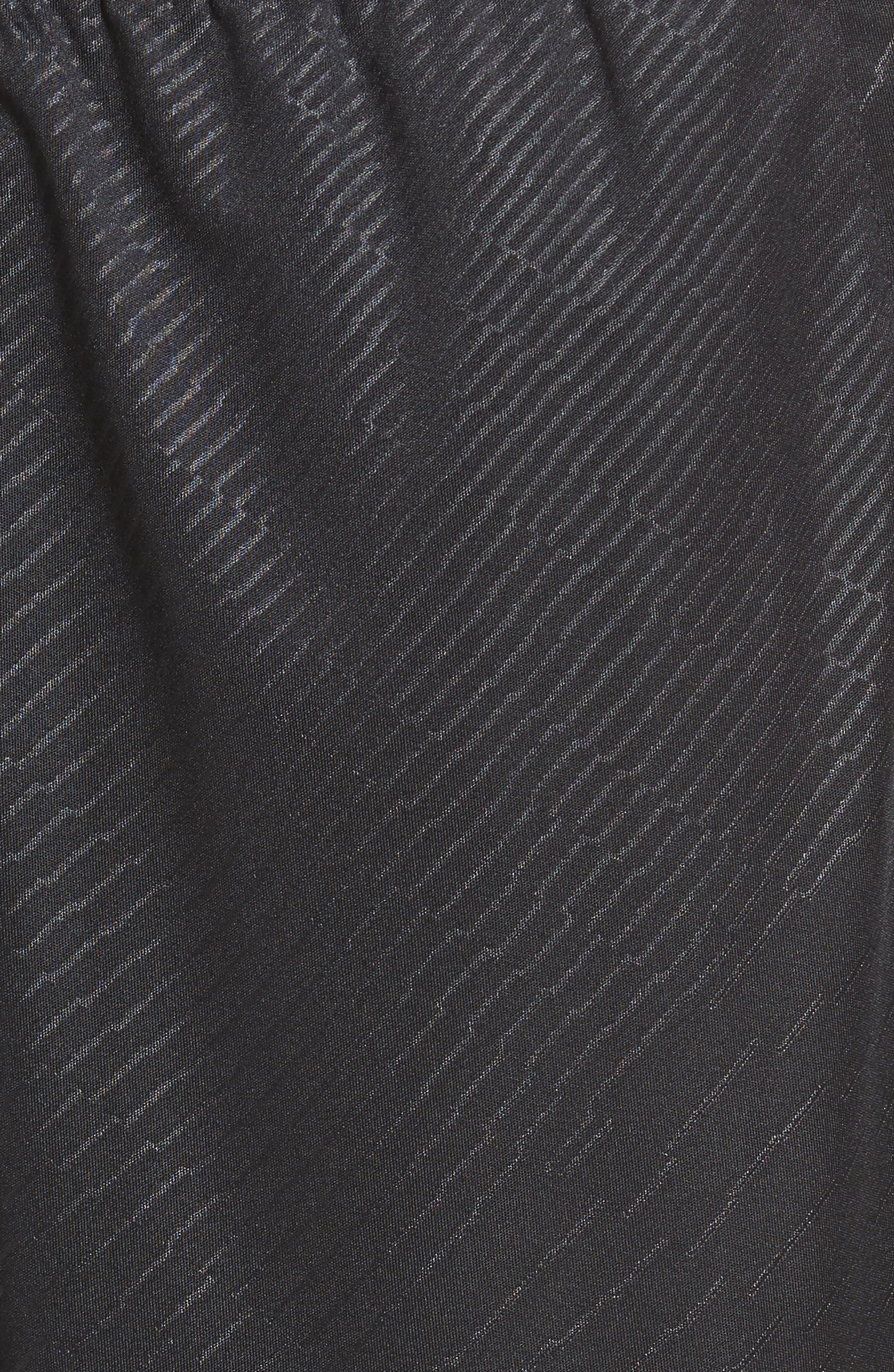 Dry Training Shorts,                             Alternate thumbnail 6, color,                             Black/ White