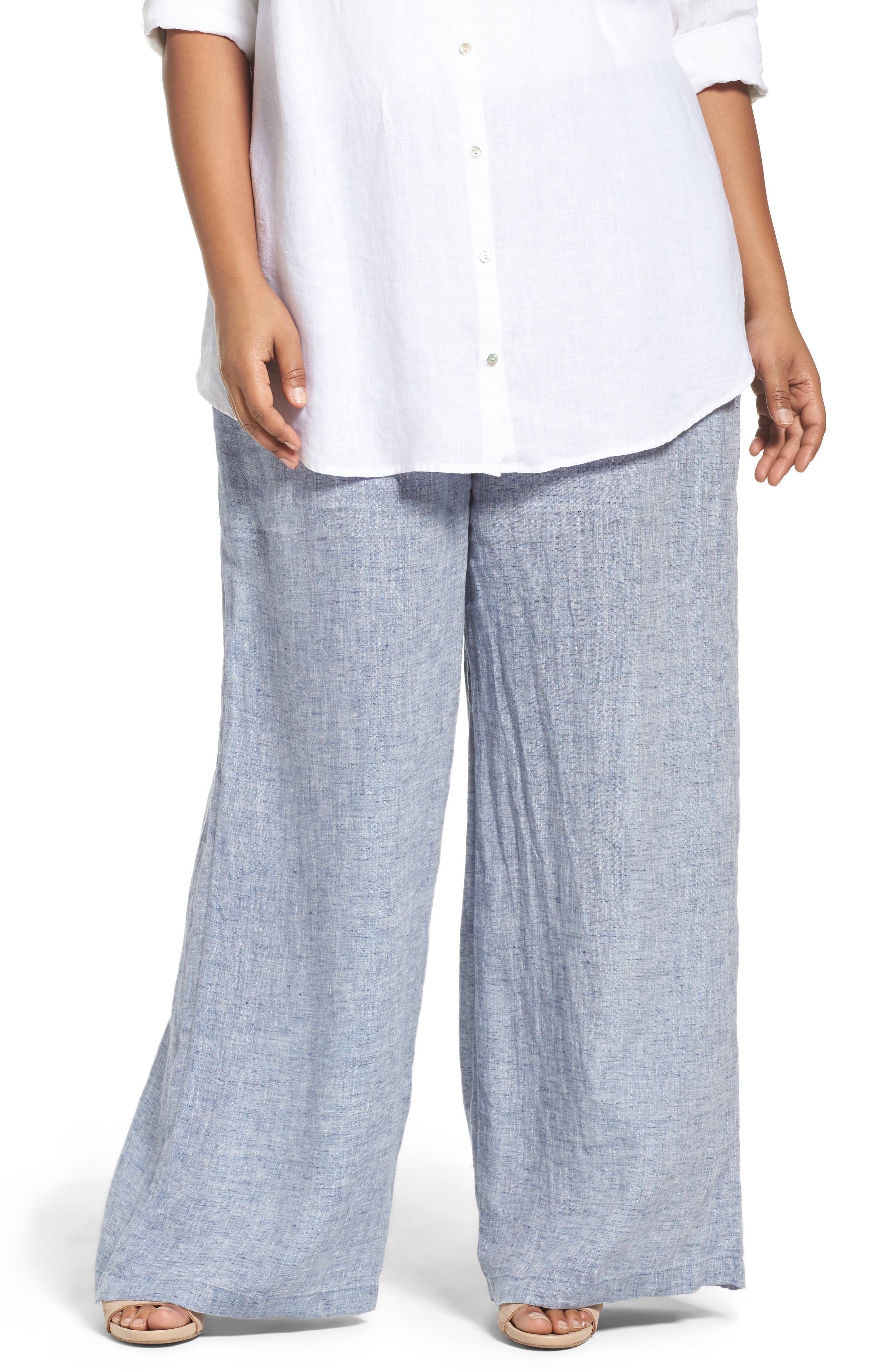 NIC+ZOE Drifty Linen Wide Leg Pants
