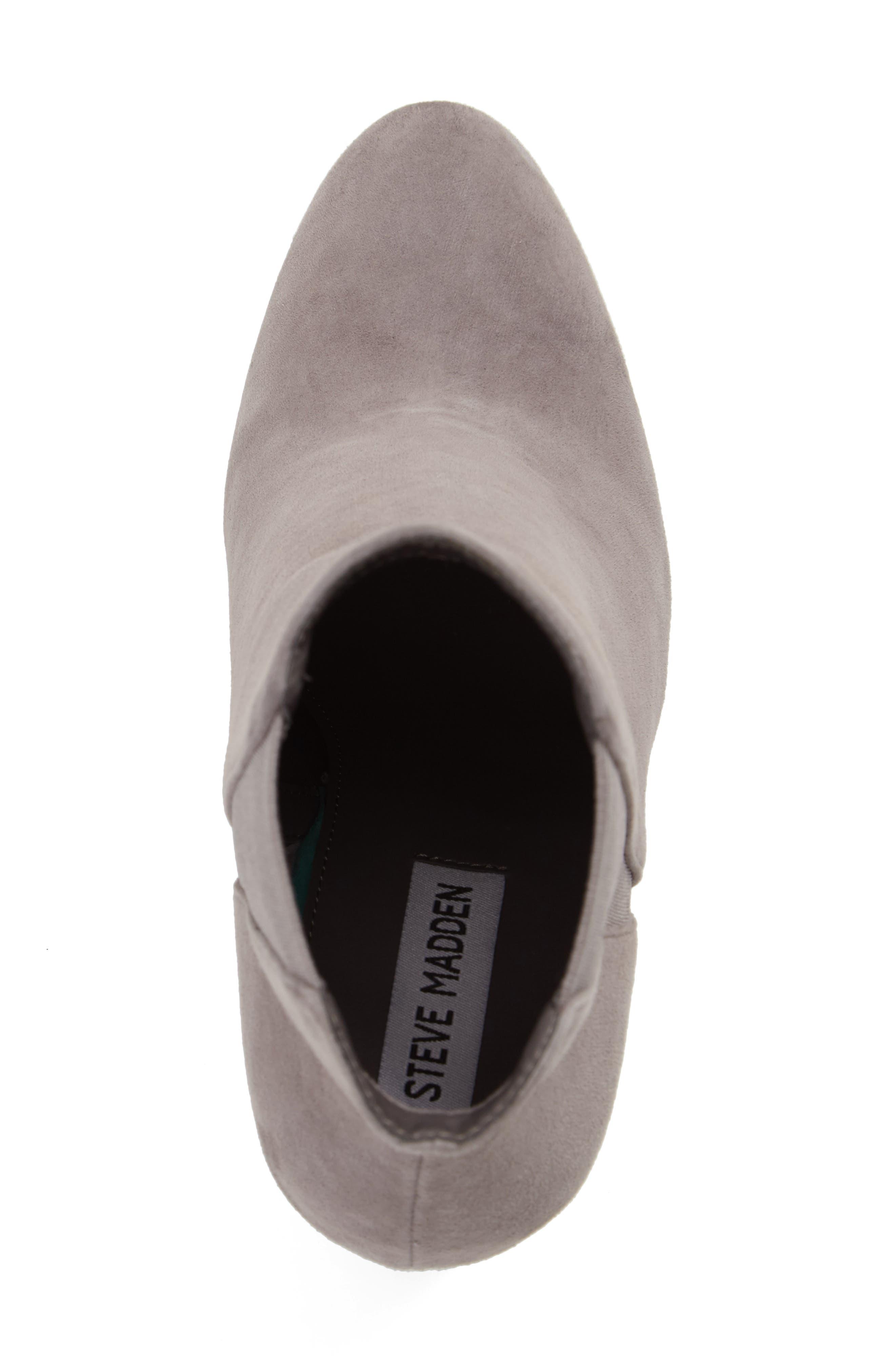 Alternate Image 5  - Steve Madden Effect Block Heel Bootie (Women)