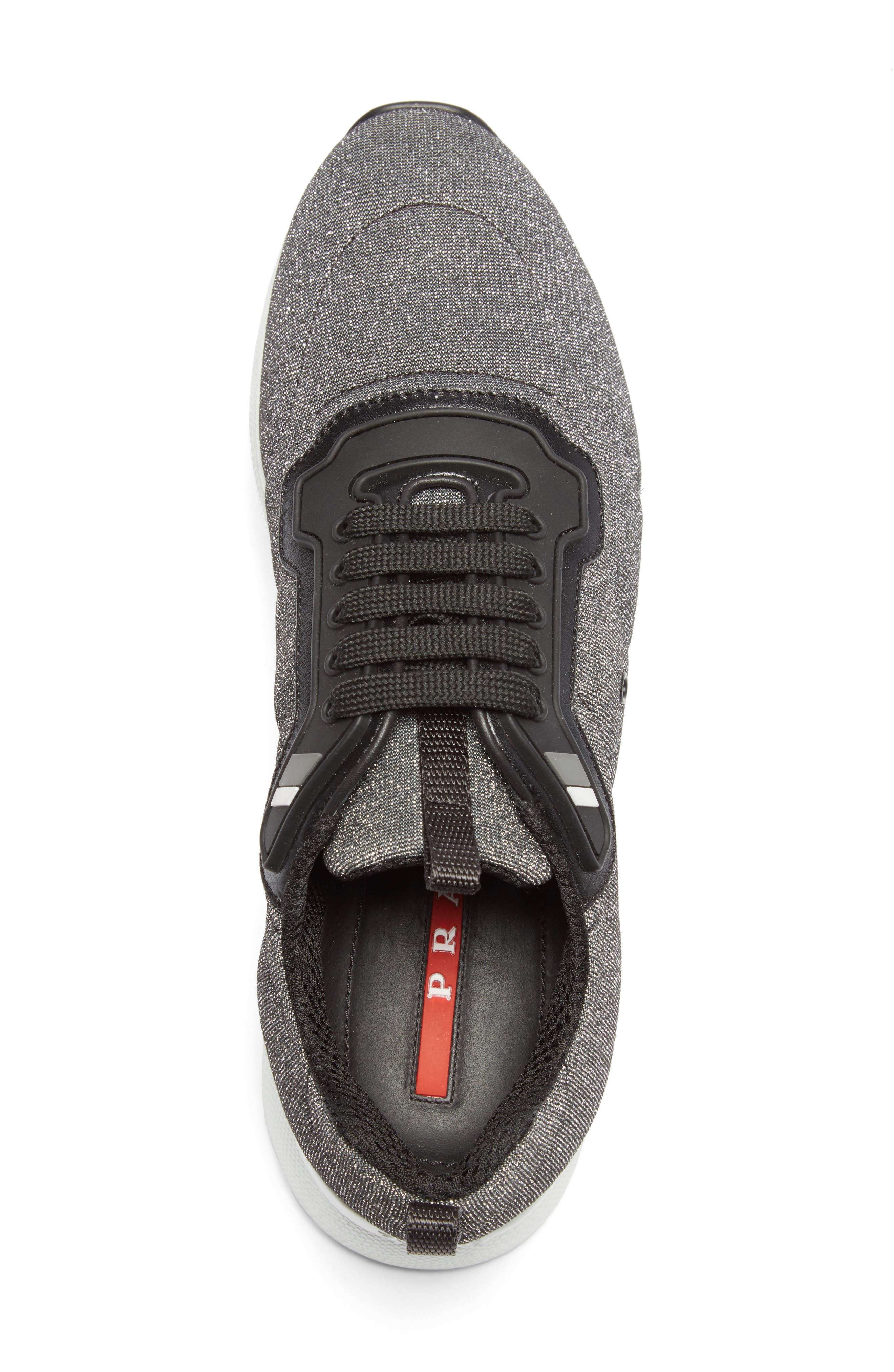 Alternate Image 3  - Prada Linea Rossa Runner Sneaker (Women)