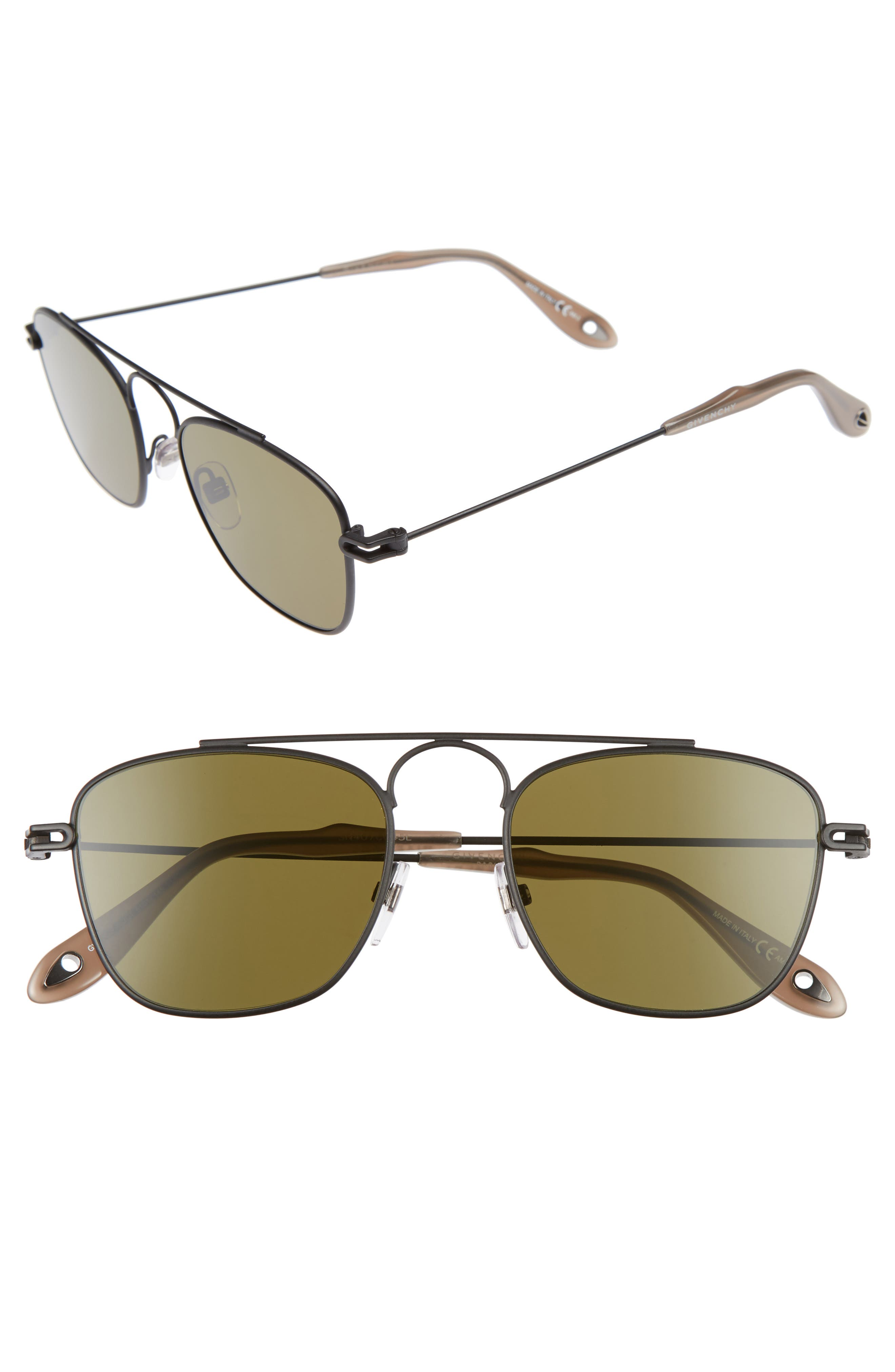 Givenchy 51mm Navigator Sunglasses