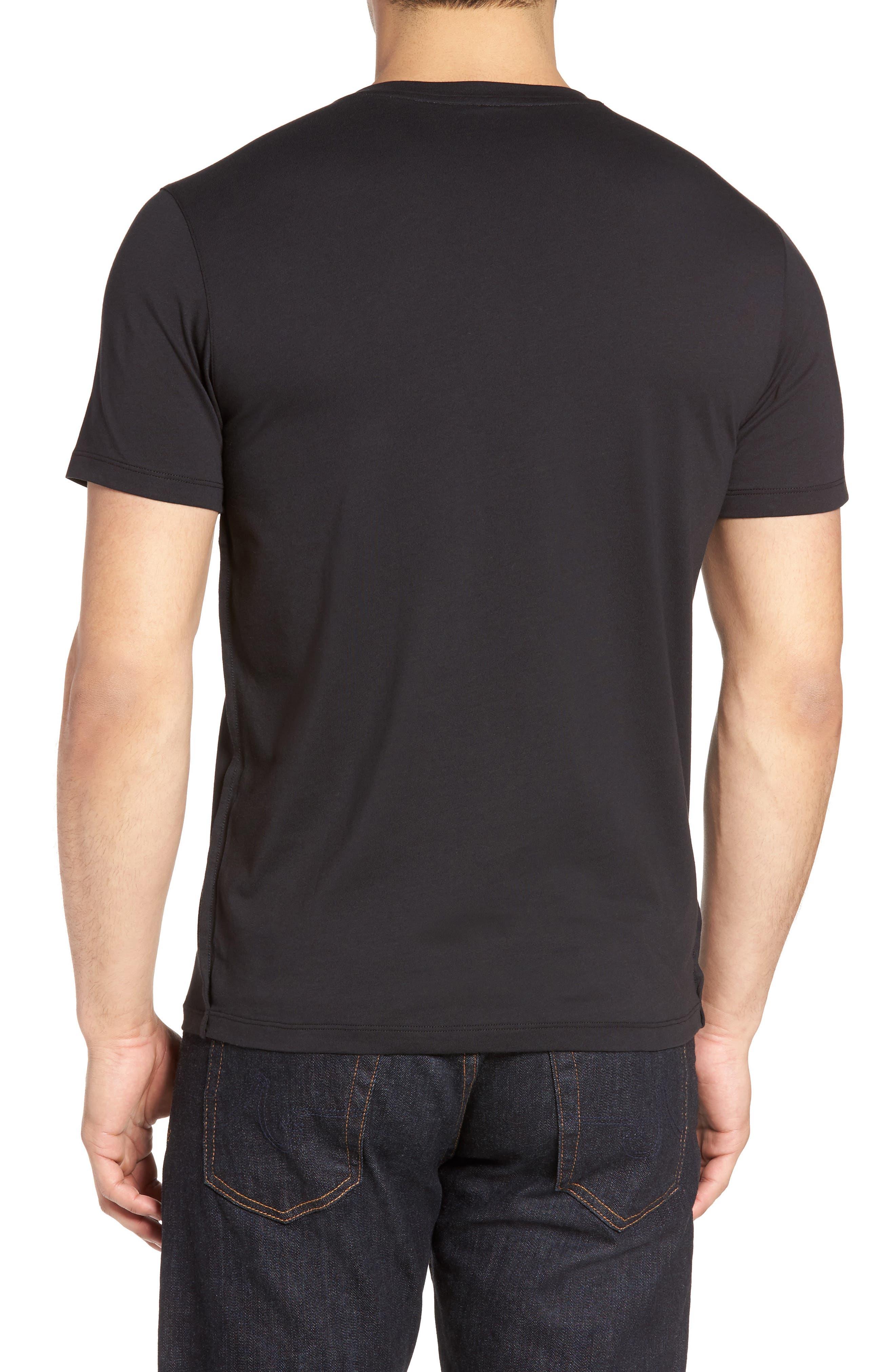 Mercer Jersey T-Shirt,                             Alternate thumbnail 2, color,                             Black
