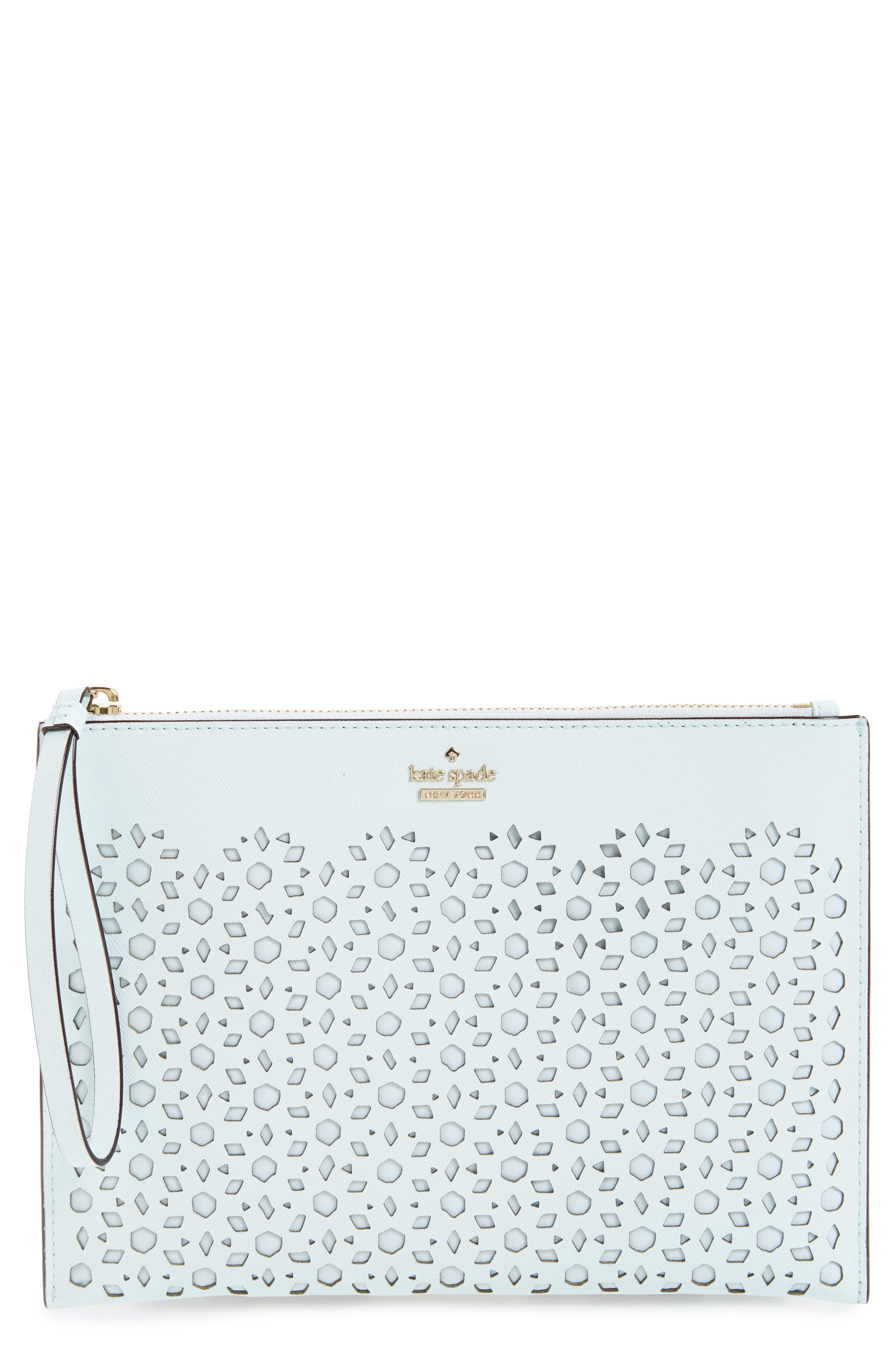 Alternate Image 1 Selected - kate spade new york cameron street - bella leather pouch