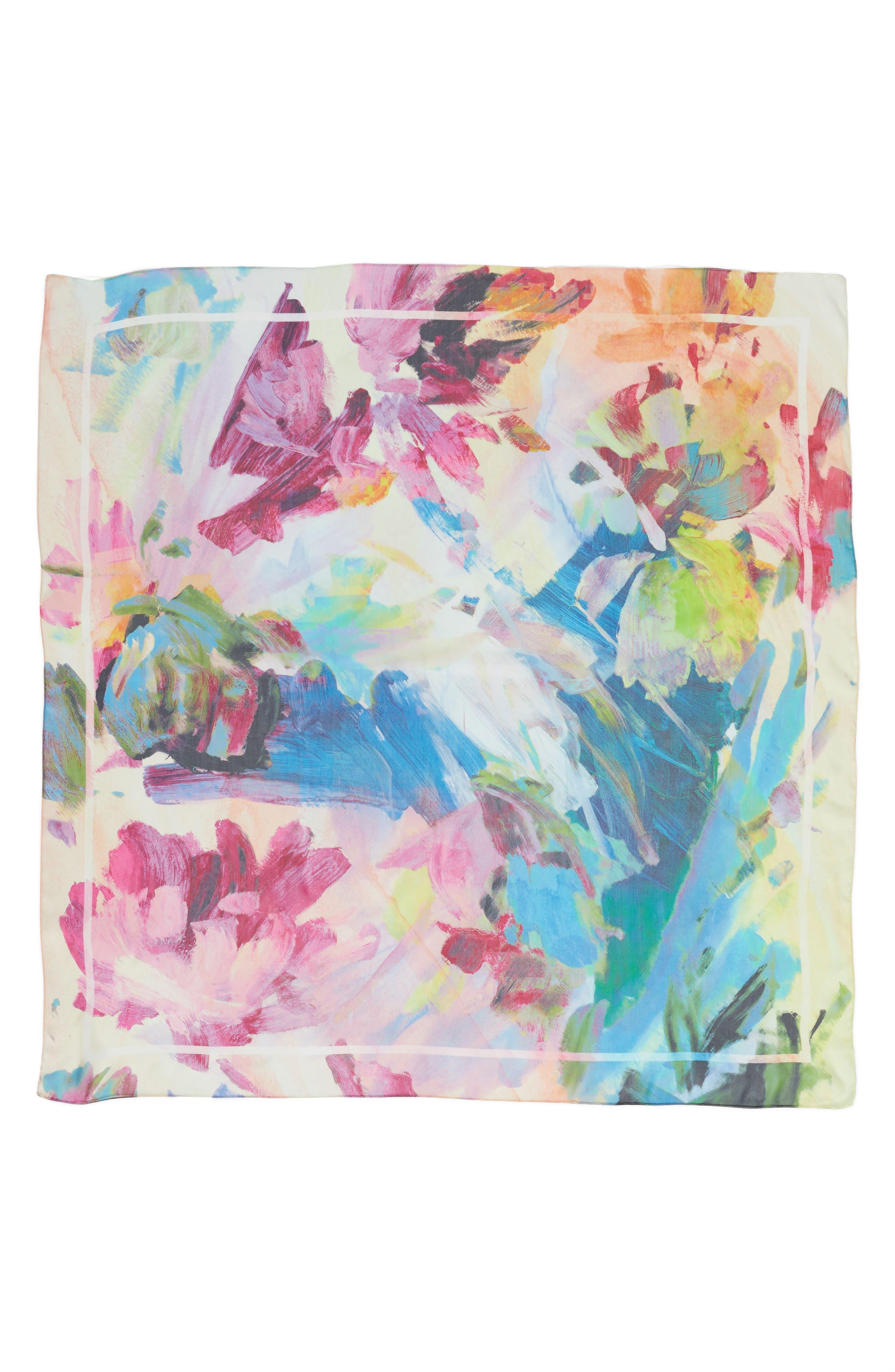 Alternate Image 2  - Nordstrom Impression Paradise Silk Scarf