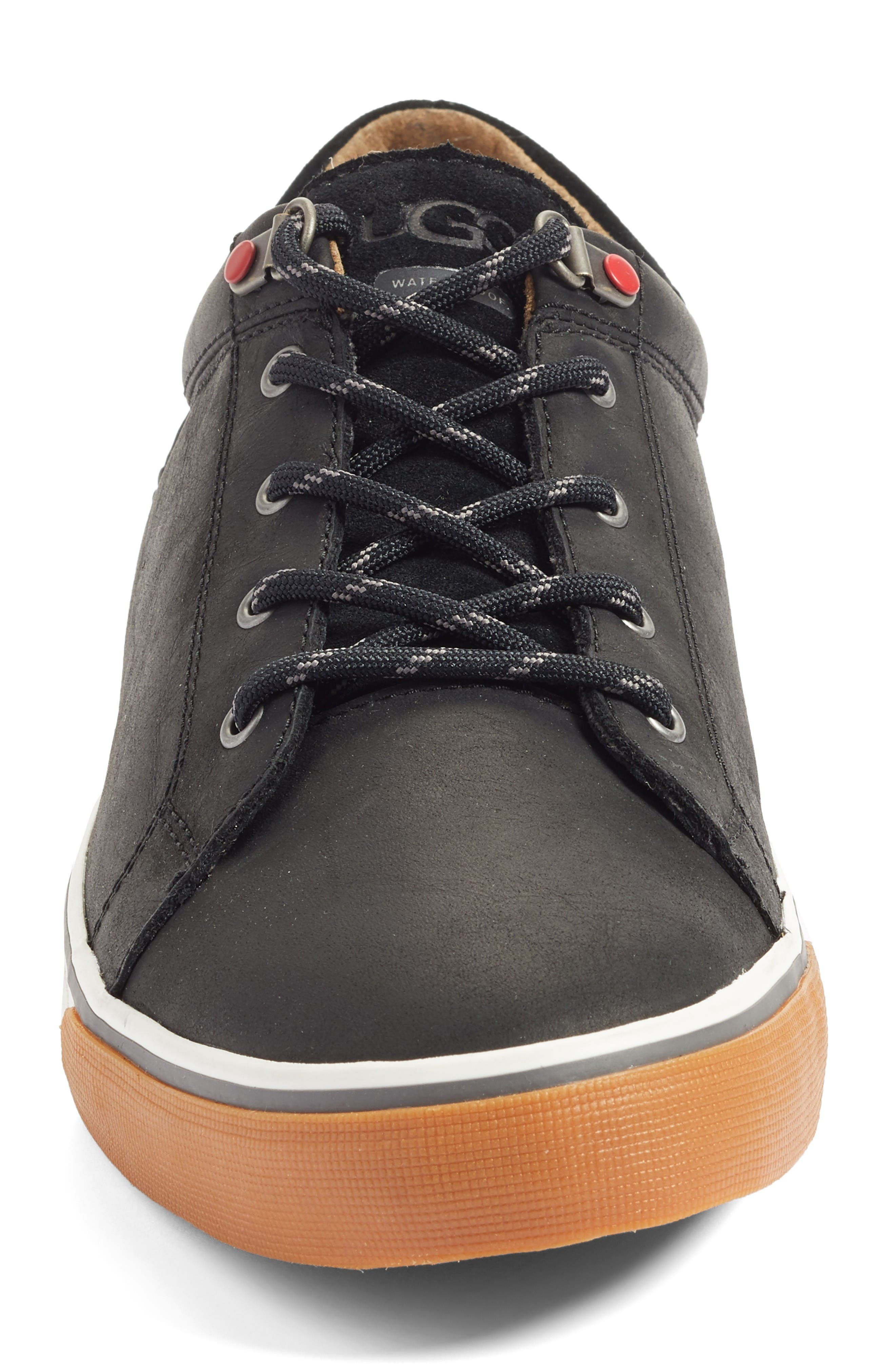 Brock Sneaker,                             Alternate thumbnail 4, color,                             Black