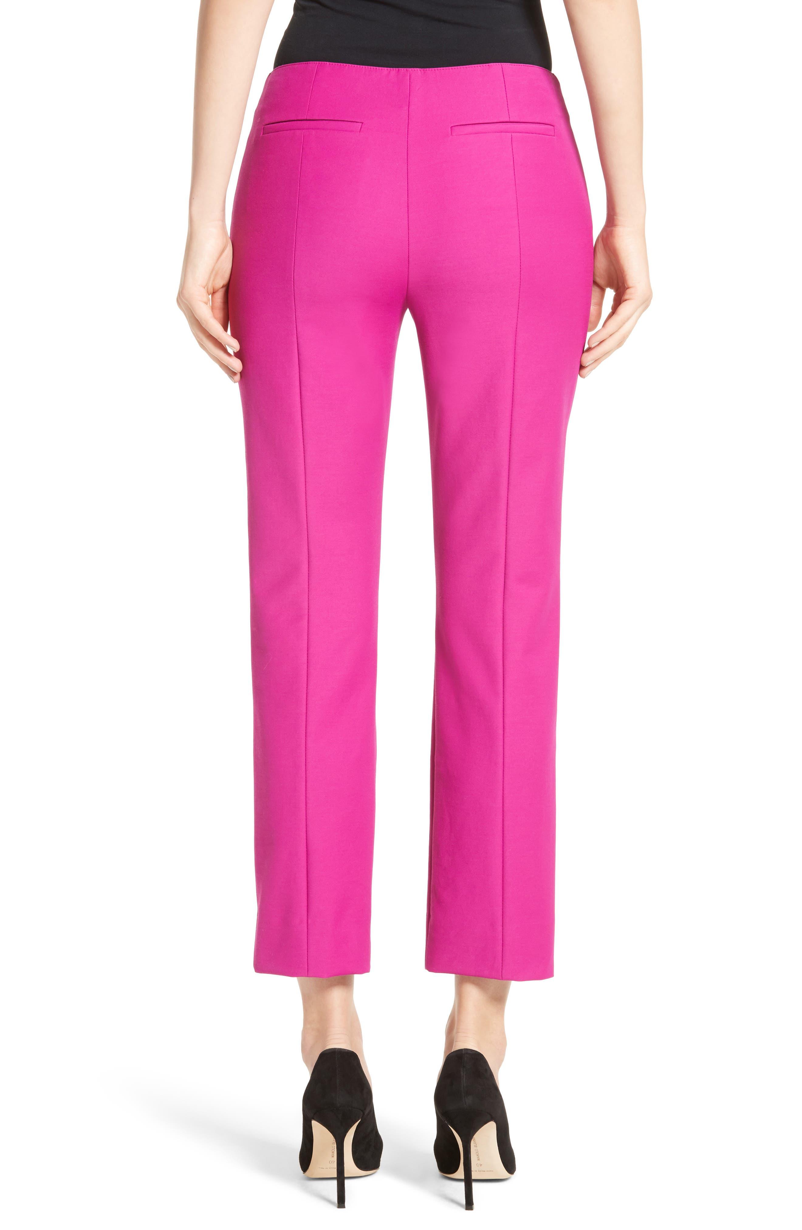 Tech Cotton Blend Slim Pants,                             Alternate thumbnail 2, color,                             Orchid