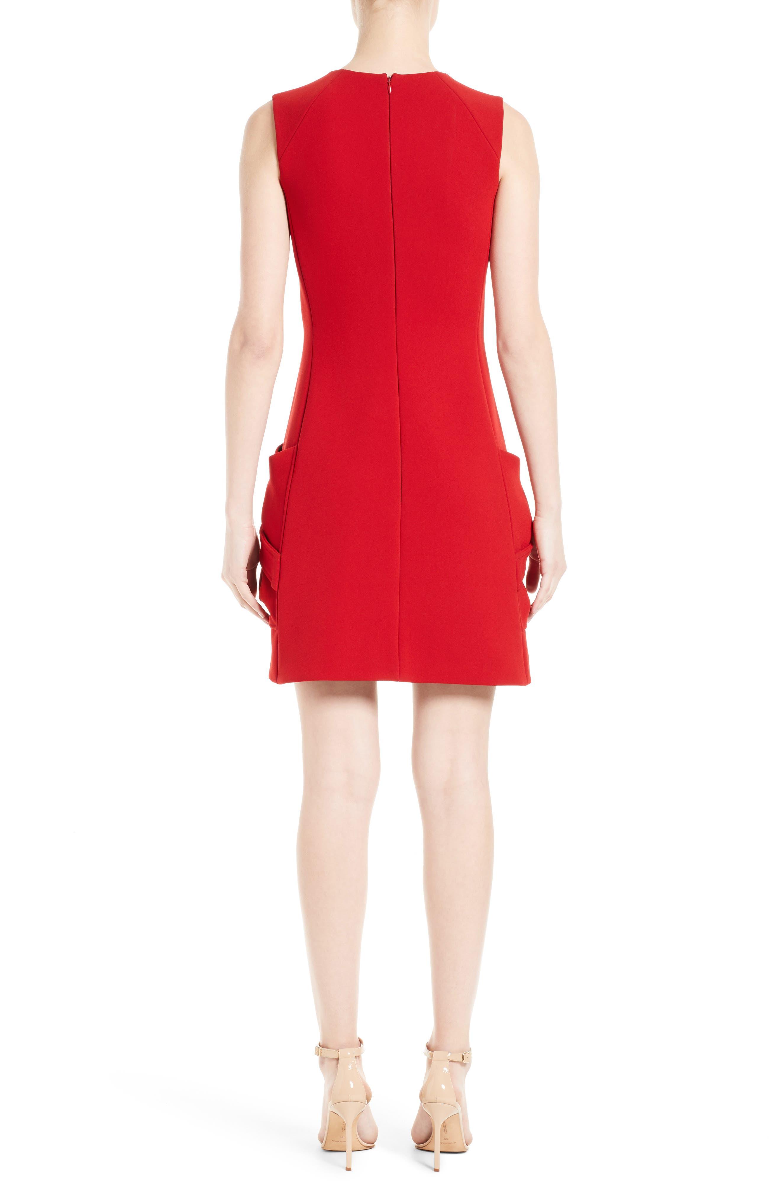 Alternate Image 2  - Victoria Beckham Crepe Minidress