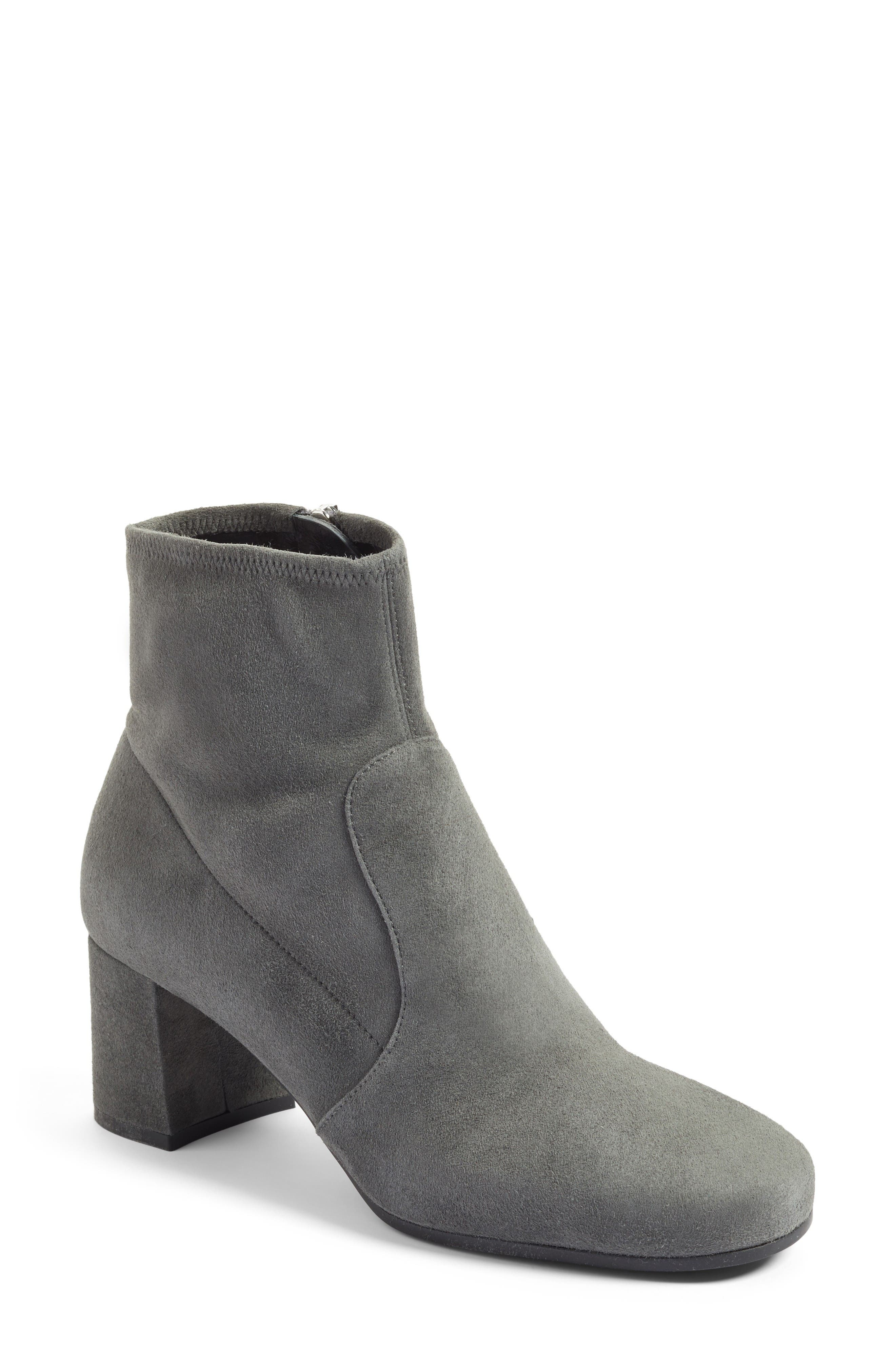 Prada Stretch Suede Ankle Boot (Women)