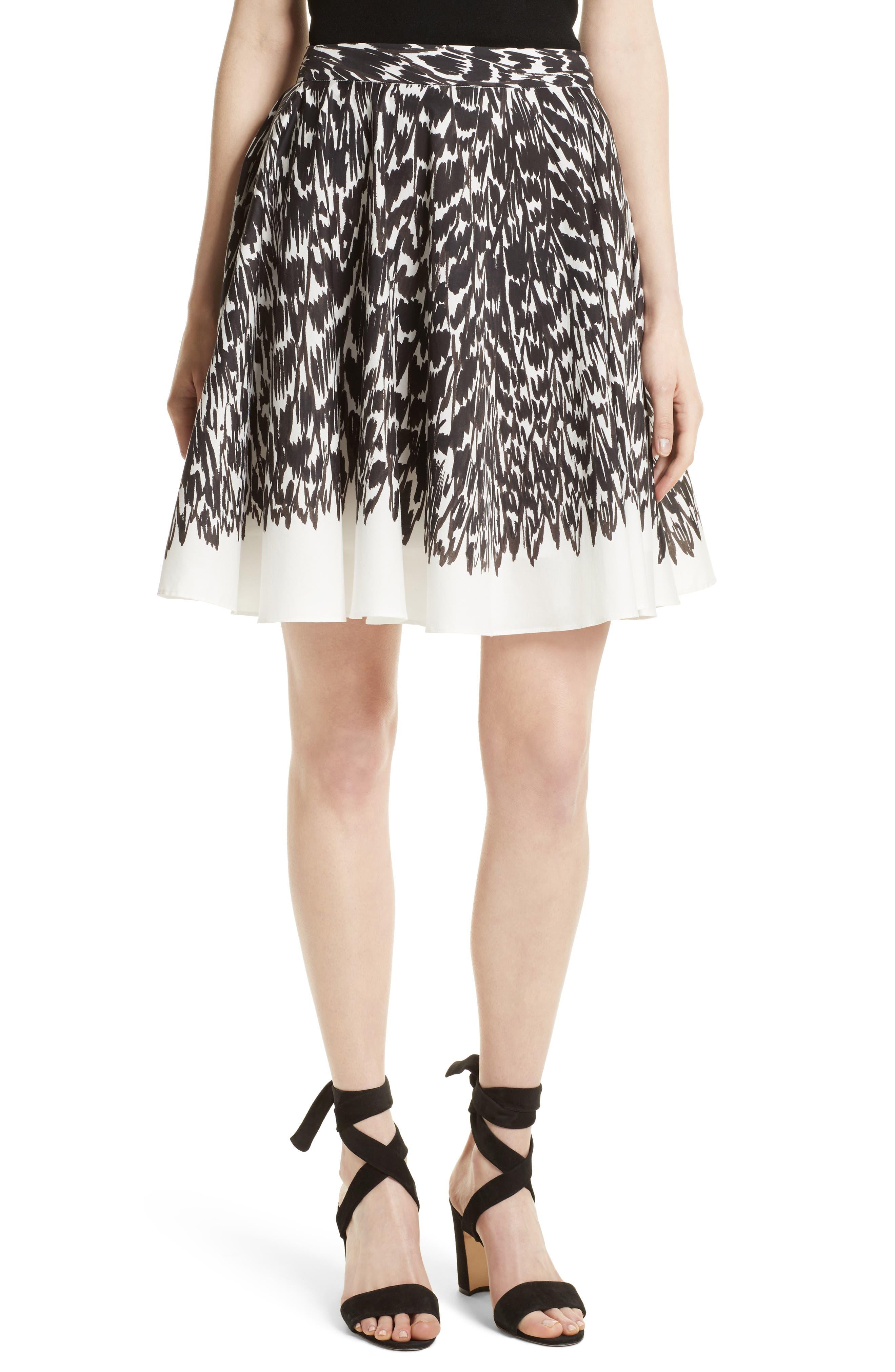 Circle Skirt,                         Main,                         color, Black