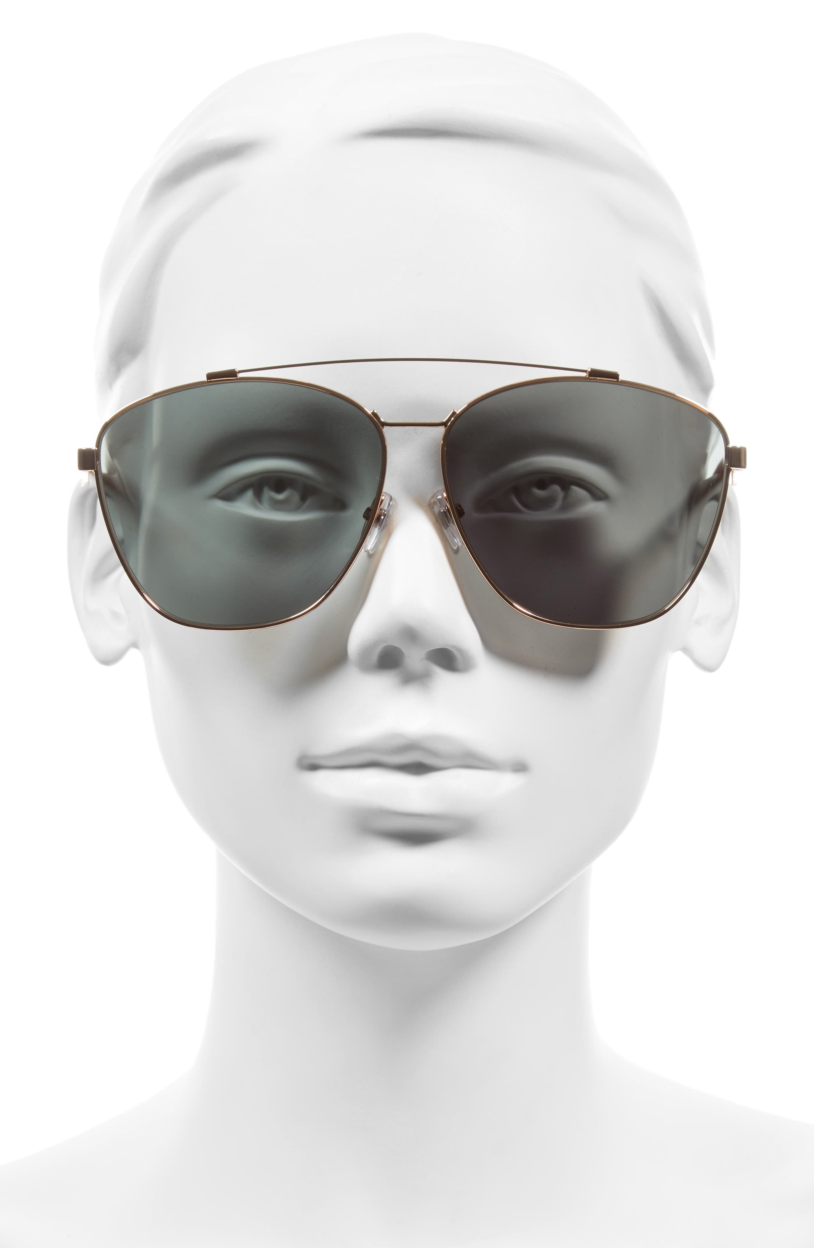 Alternate Image 2  - Givenchy 65mm Round Aviator Sunglasses