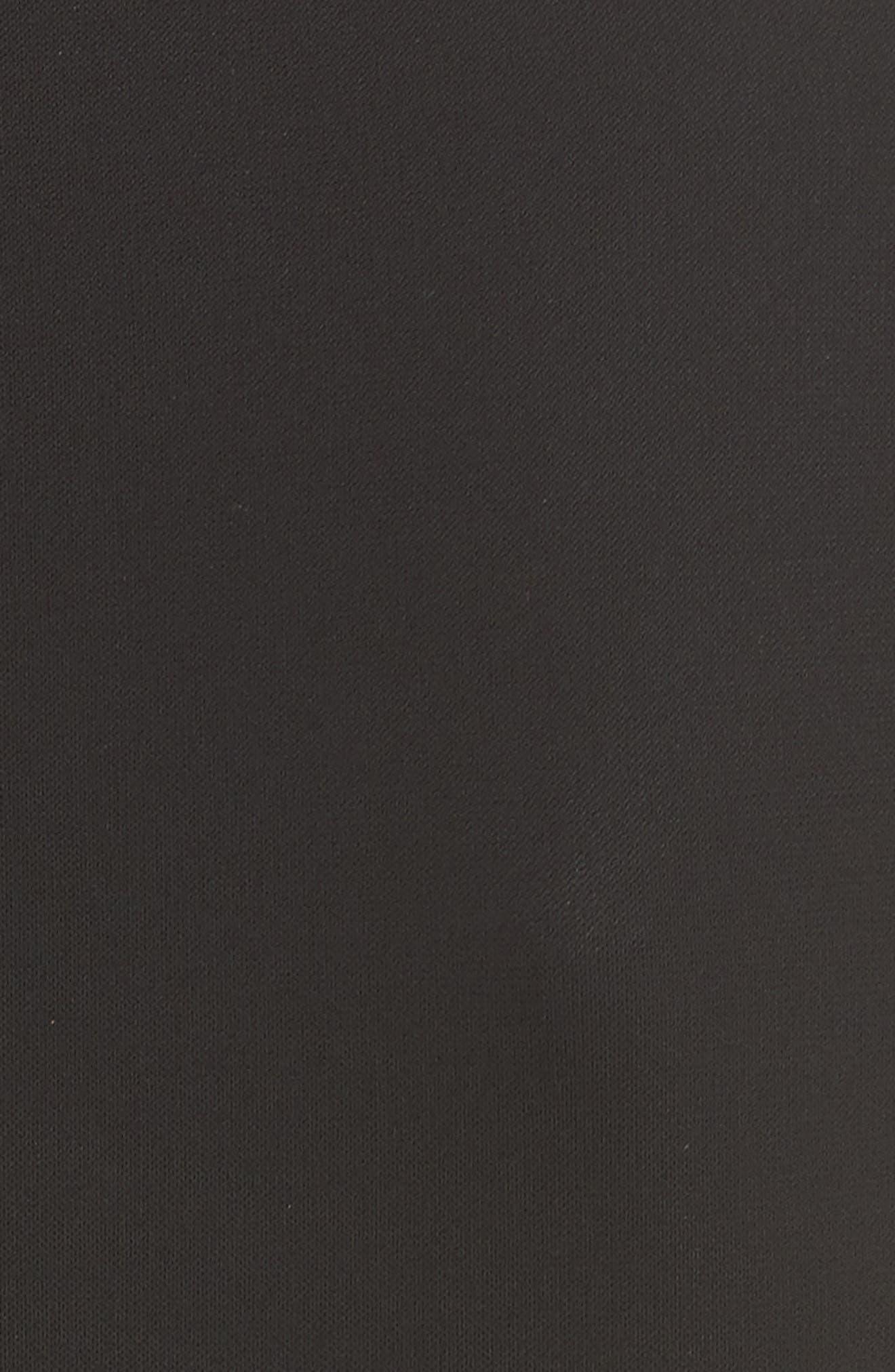 Alternate Image 3  - Michael Kors Leather Trim Jersey & Lace Sheath Dress