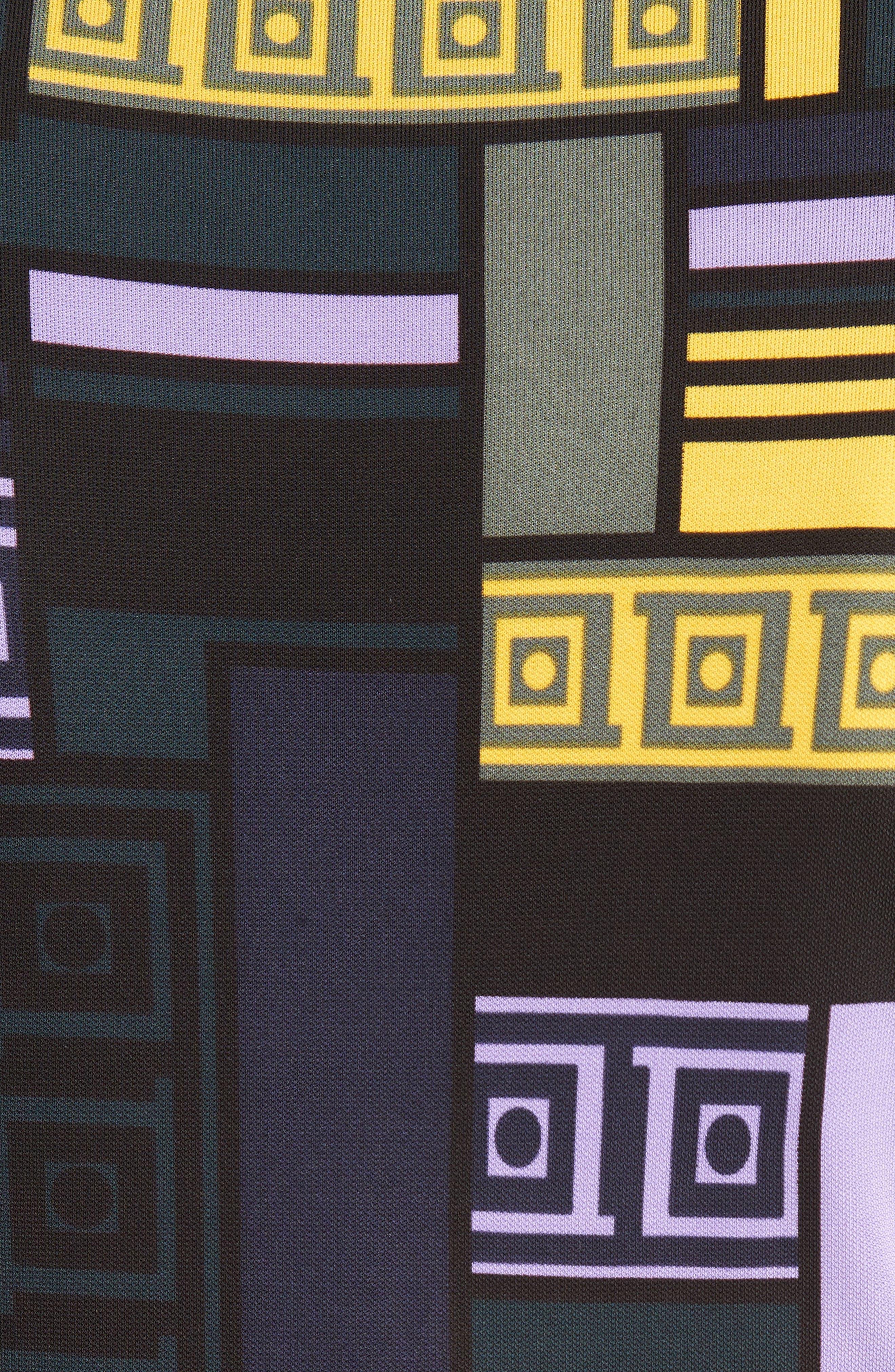Alternate Image 3  - Versace Collection Cold Shoulder Print Jersey Dress