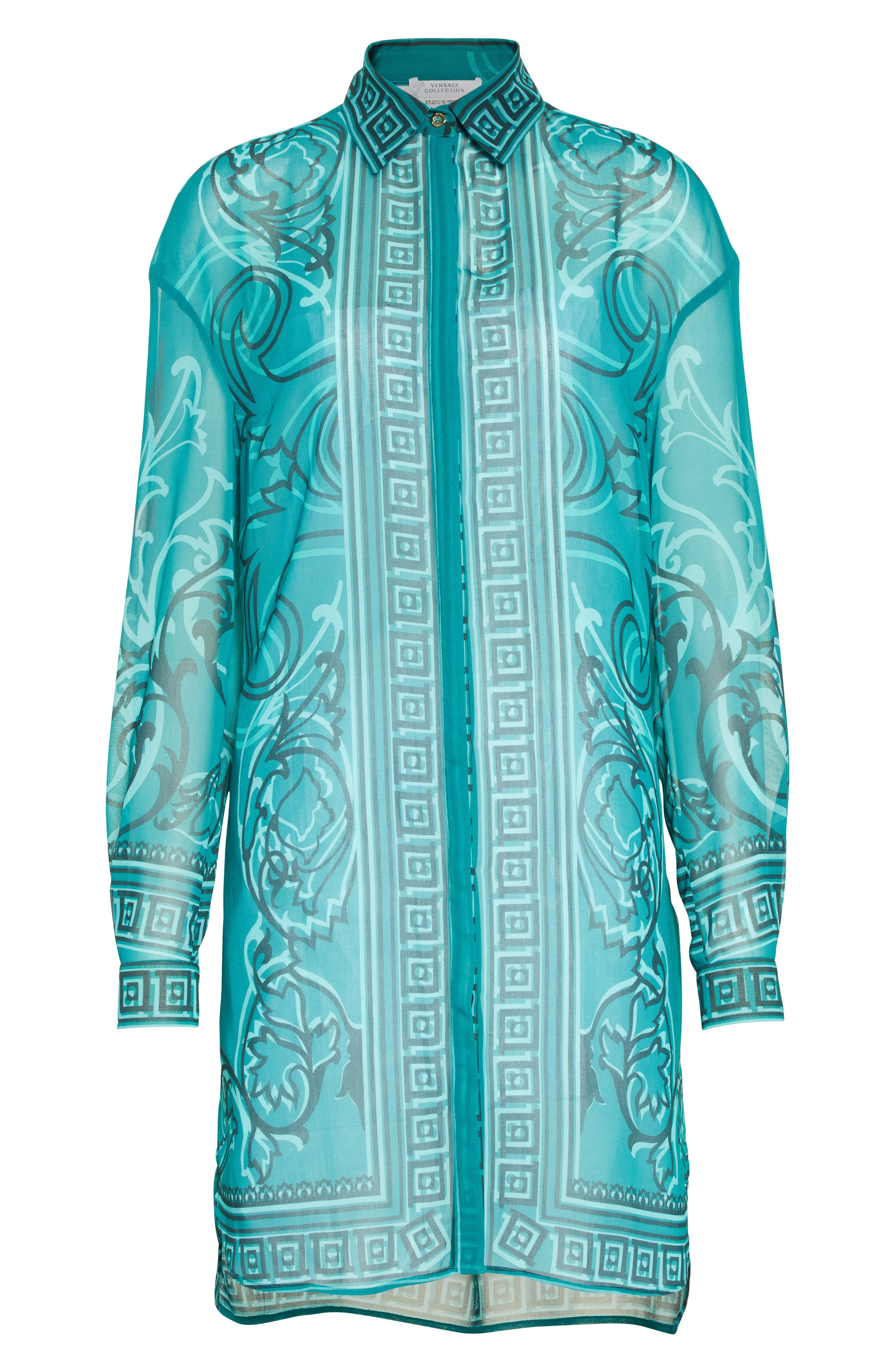 Alternate Image 4  - Versace Collection Baroque Print Tunic