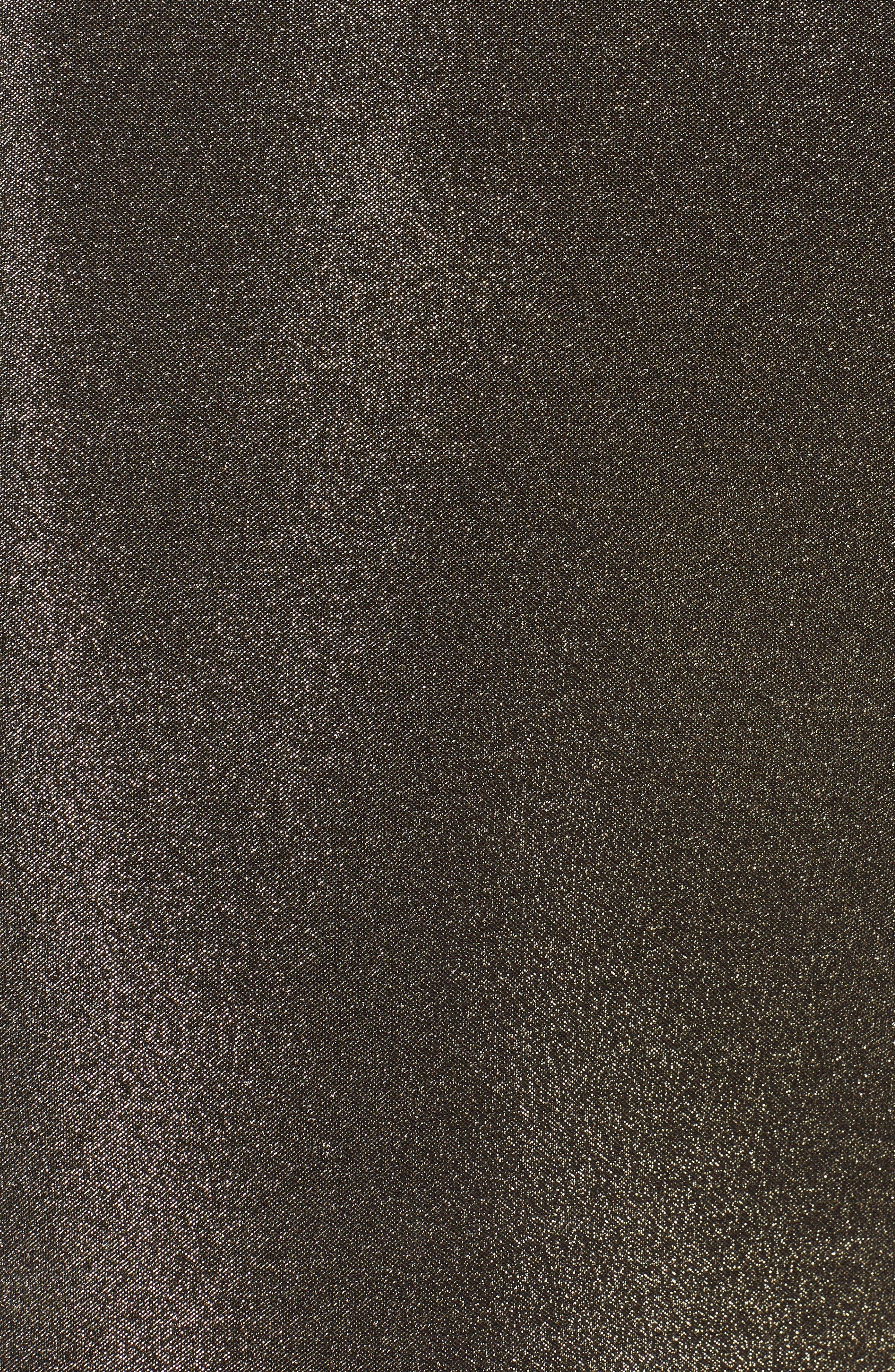 Alternate Image 3  - Fendi Metallic Neoprene Bell Sleeve Top