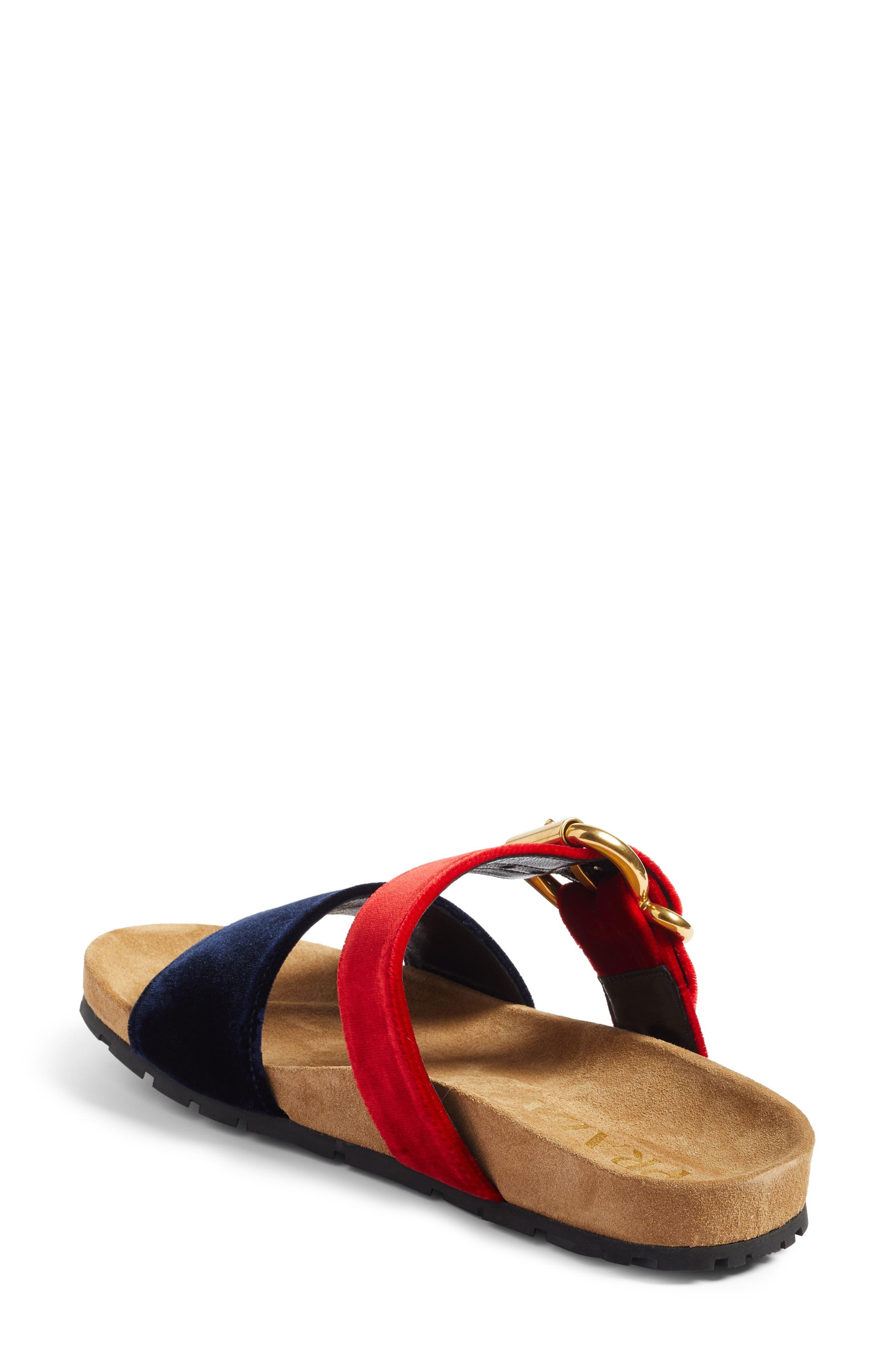 Alternate Image 2  - Prada Double Band Slide Sandal (Women)