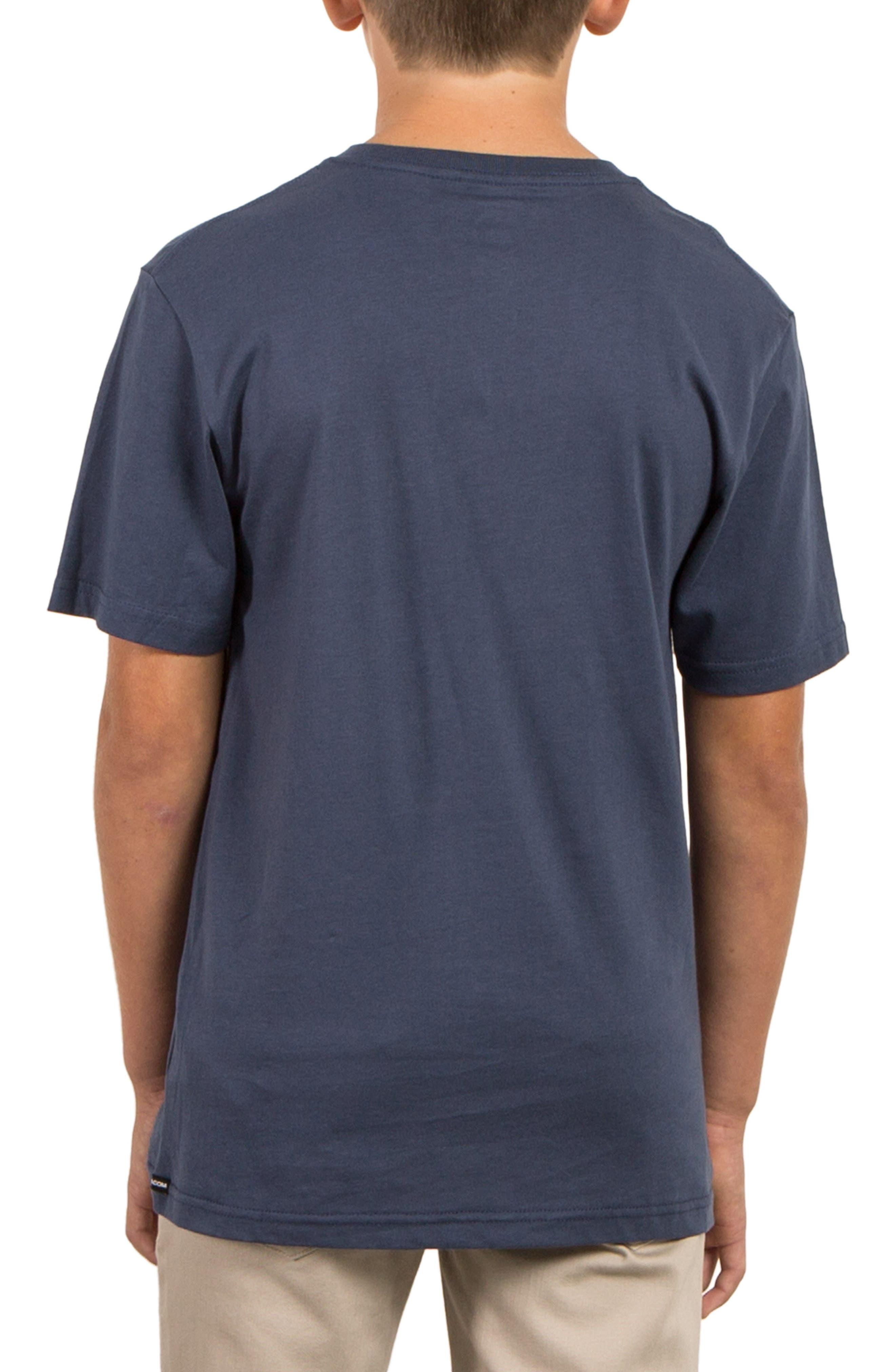 Alternate Image 2  - Volcom Classic Stone T-Shirt (Big Boys)