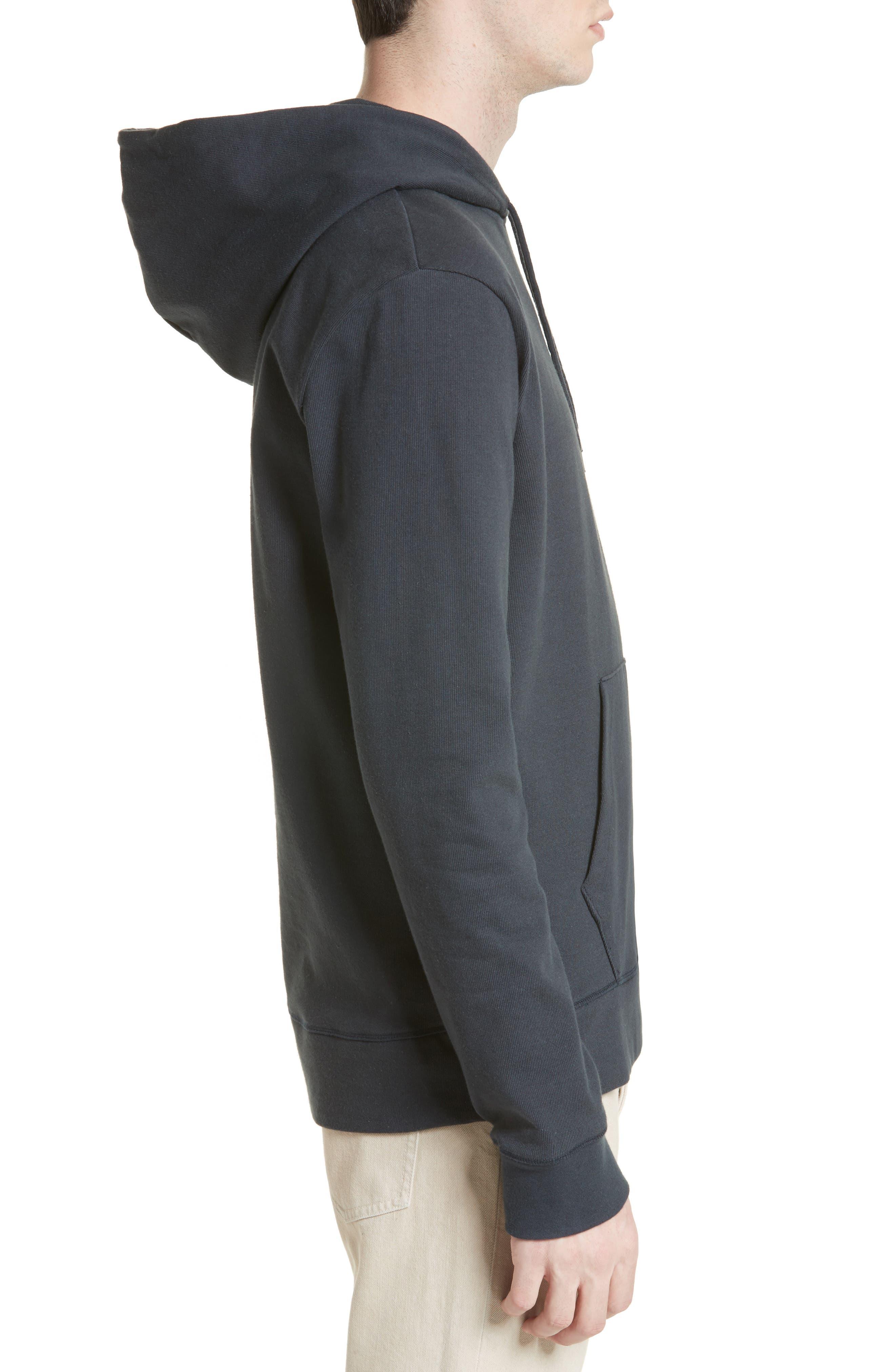Brody Hooded Sweatshirt,                             Alternate thumbnail 3, color,                             Grey