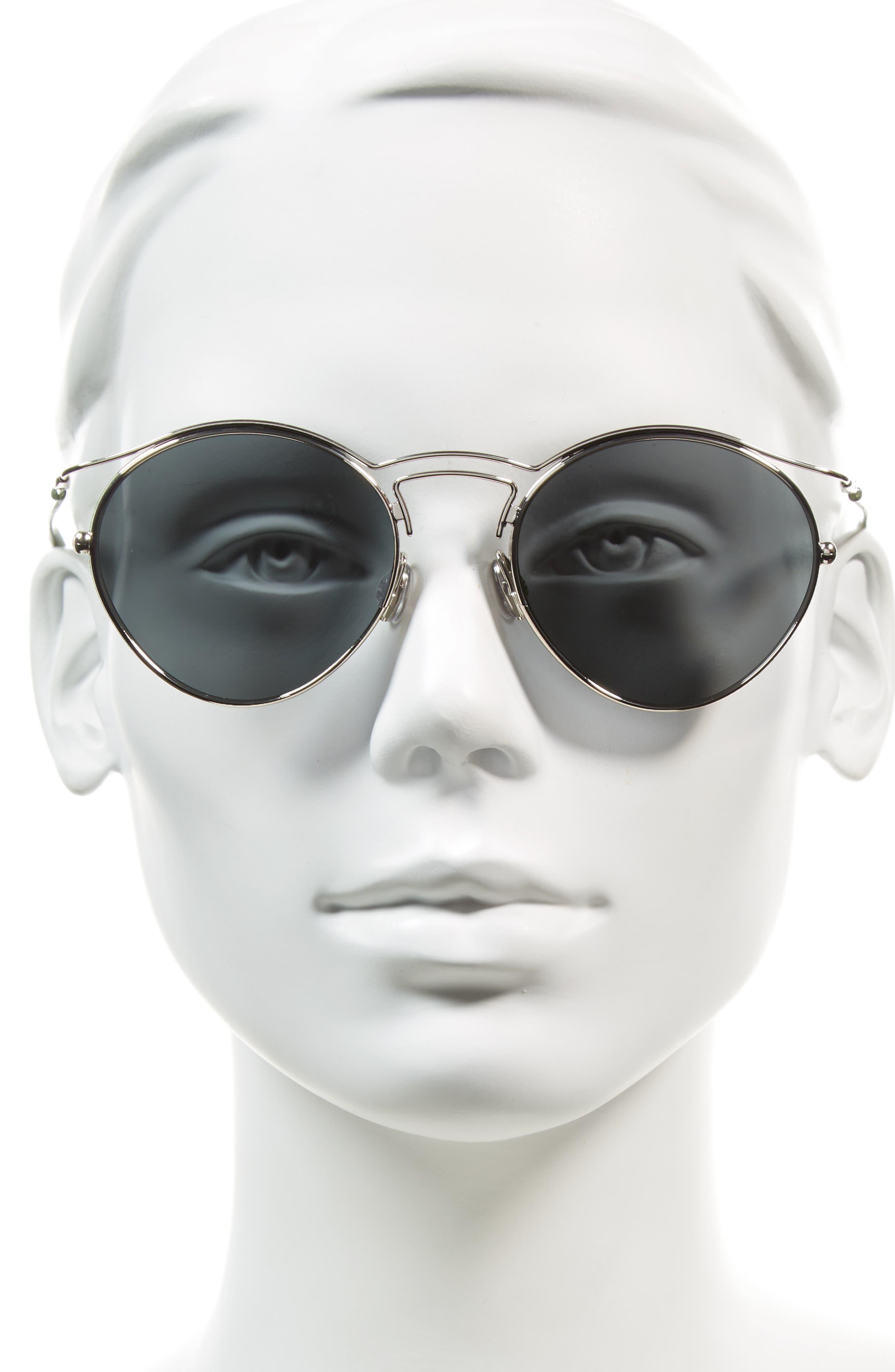 Alternate Image 2  - Dior Origins 1 53mm Round Sunglasses