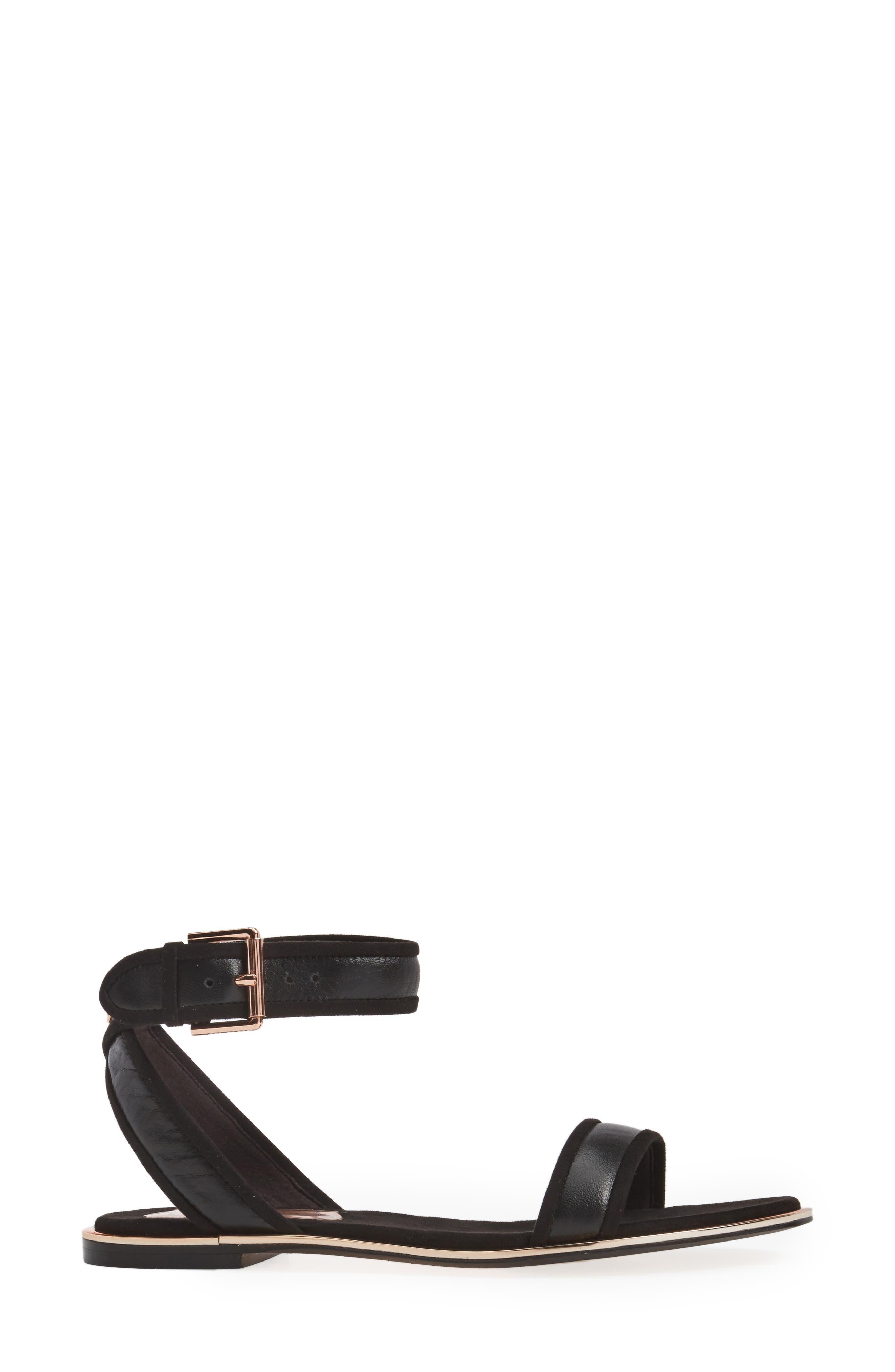 Alternate Image 3  - Ted Baker Alella Ankle Strap Sandal (Women)