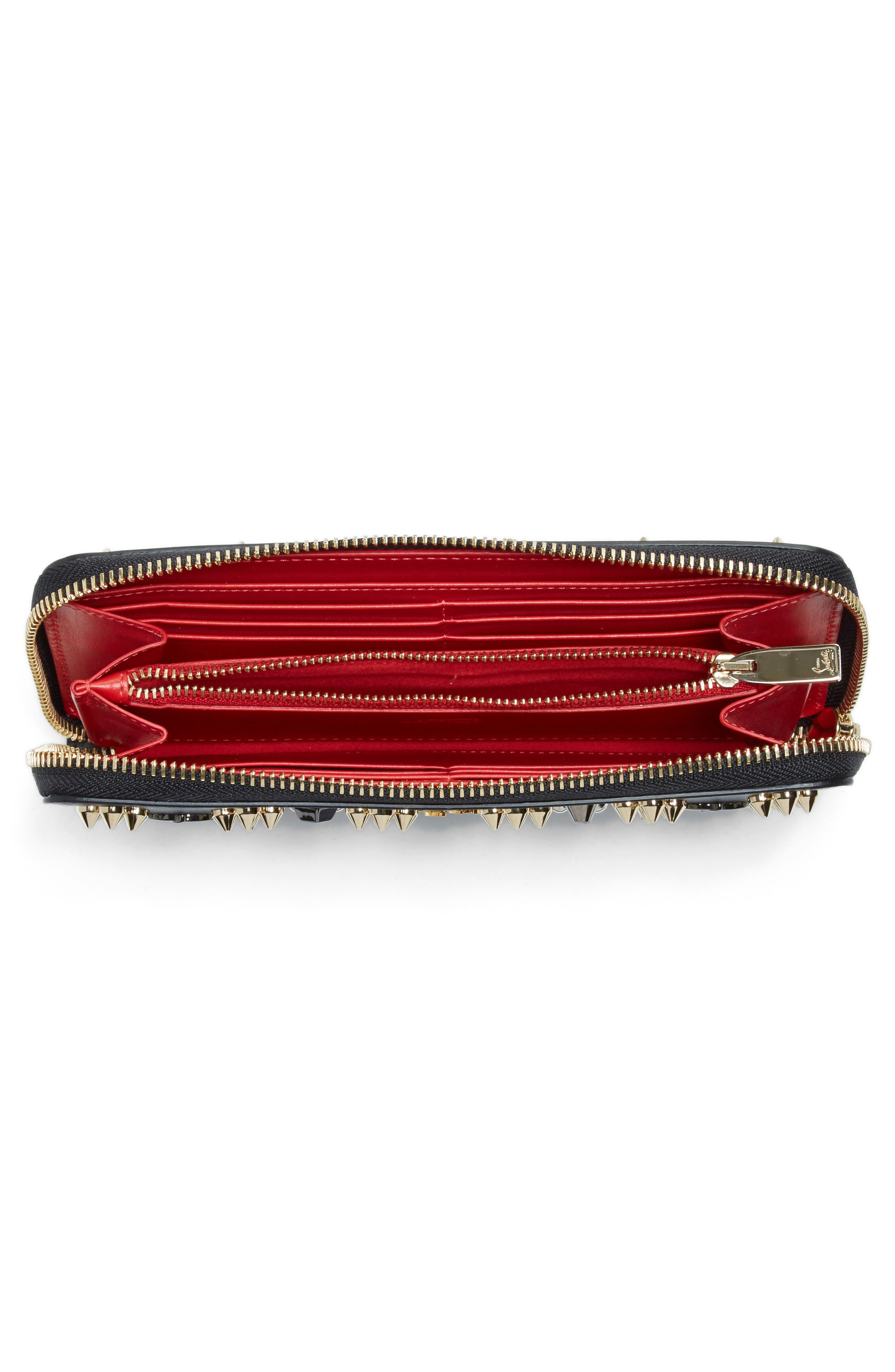 Alternate Image 2  - Christian Louboutin Panettone Spiked Calfskin Wallet