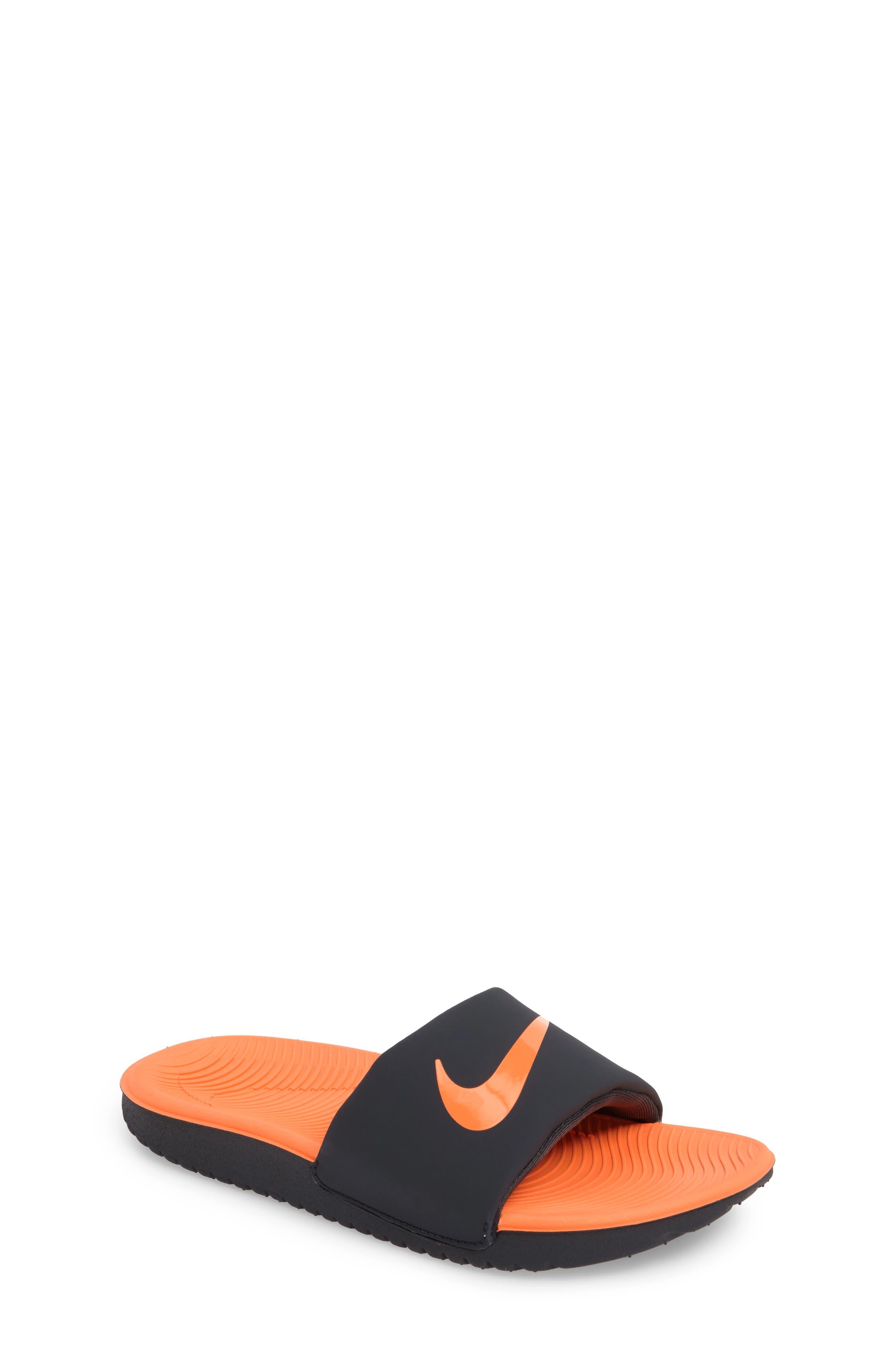 Nike 'Kawa' Slide Sandal (Toddler, Little Kid & Big Kid)