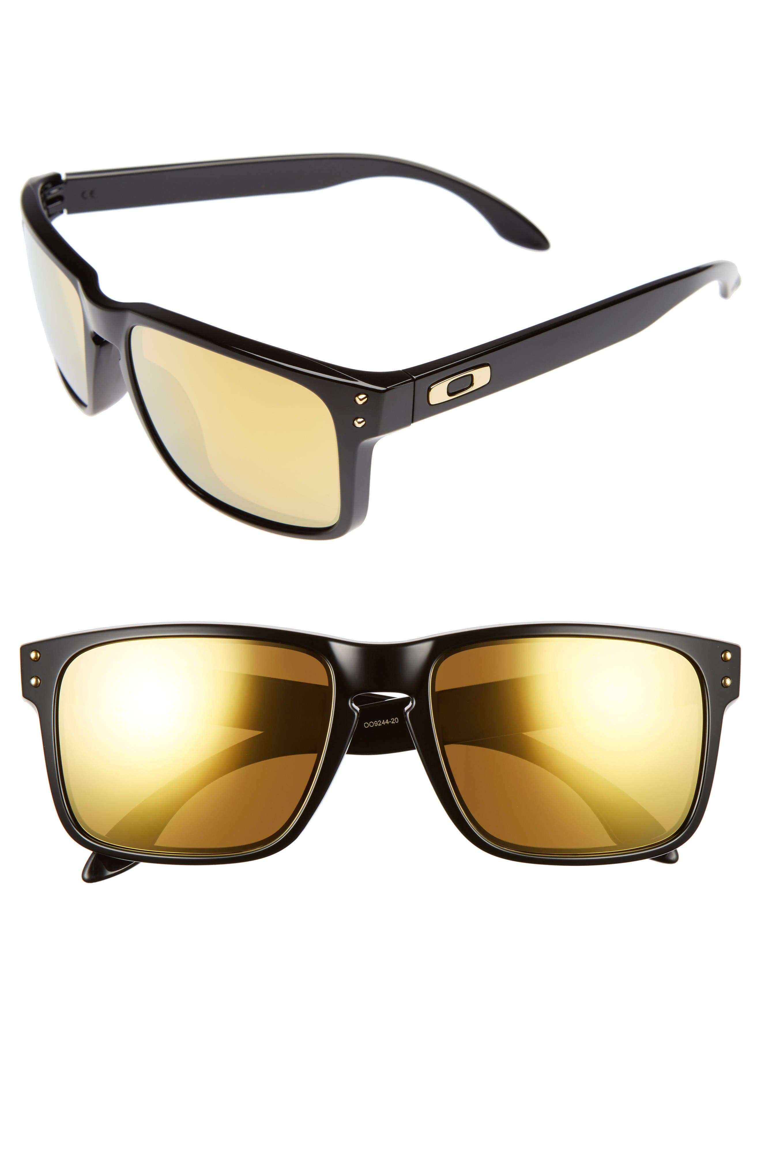 Main Image - Oakley Holbrook 56mm Polarized Sunglasses