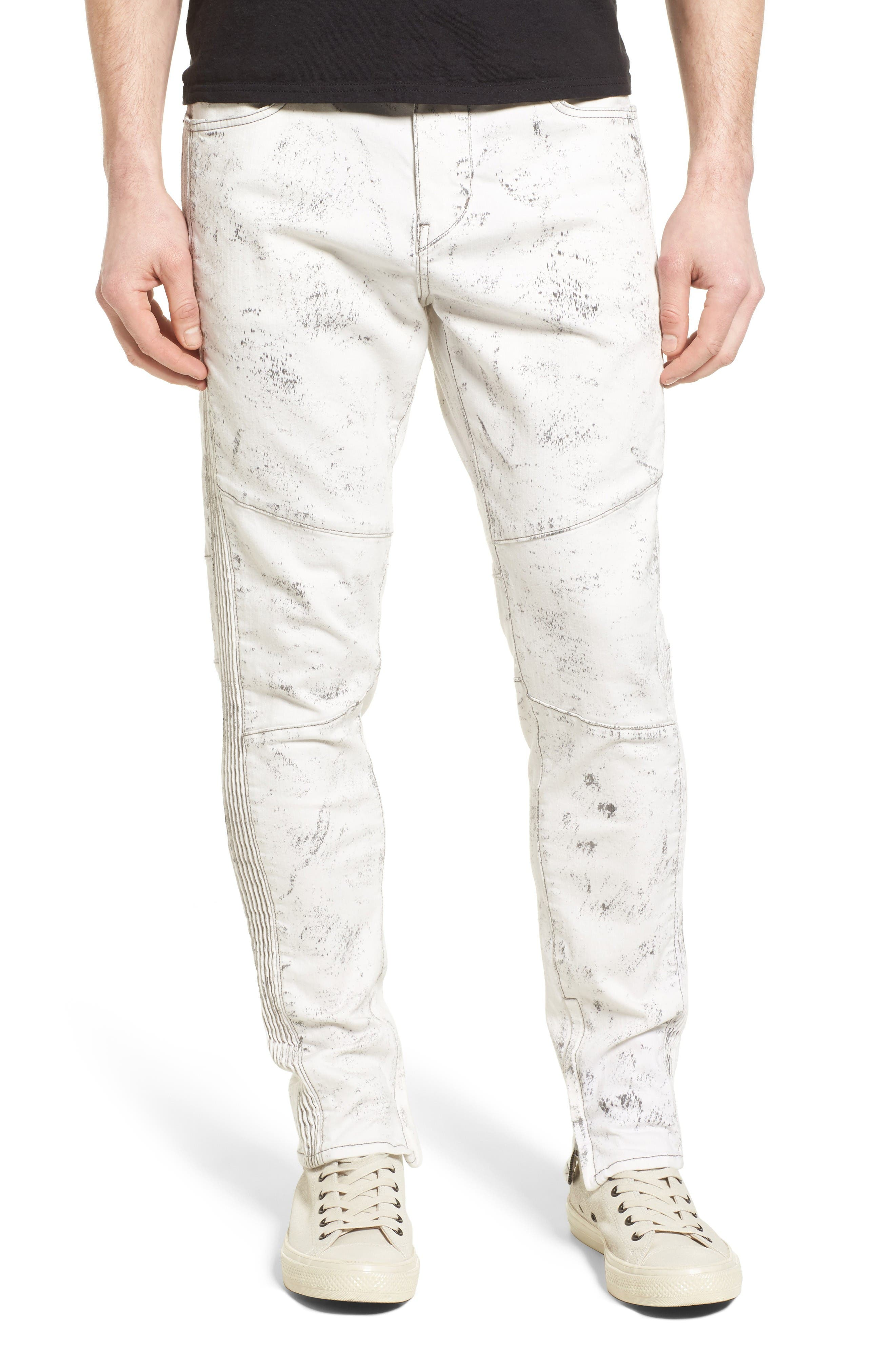 True Religion Racer Skinny Fit Jeans,                             Main thumbnail 1, color,                             Black Sand