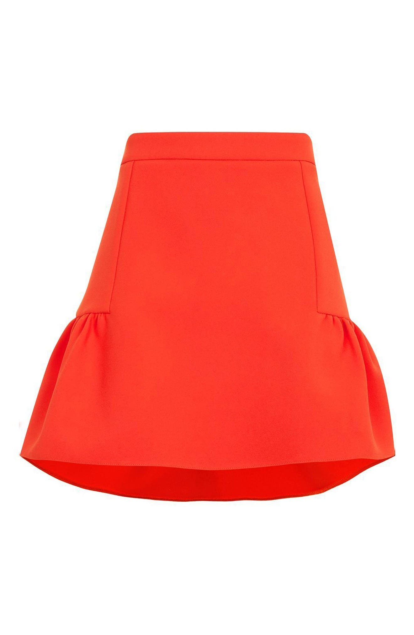 Alternate Image 5  - Topshop Peplum Skirt