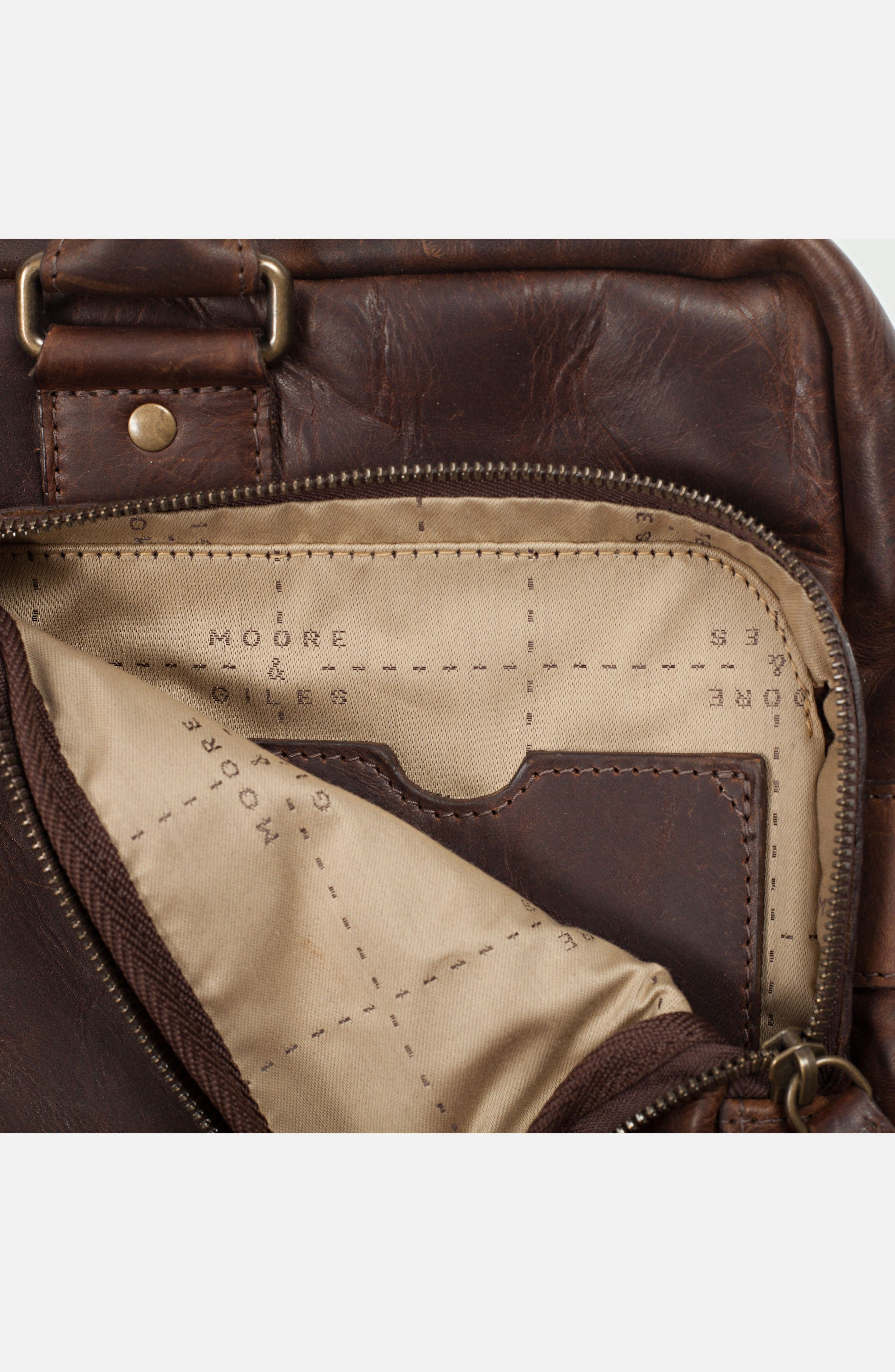 Alternate Image 6  - Moore & Giles Haythe Leather Briefcase