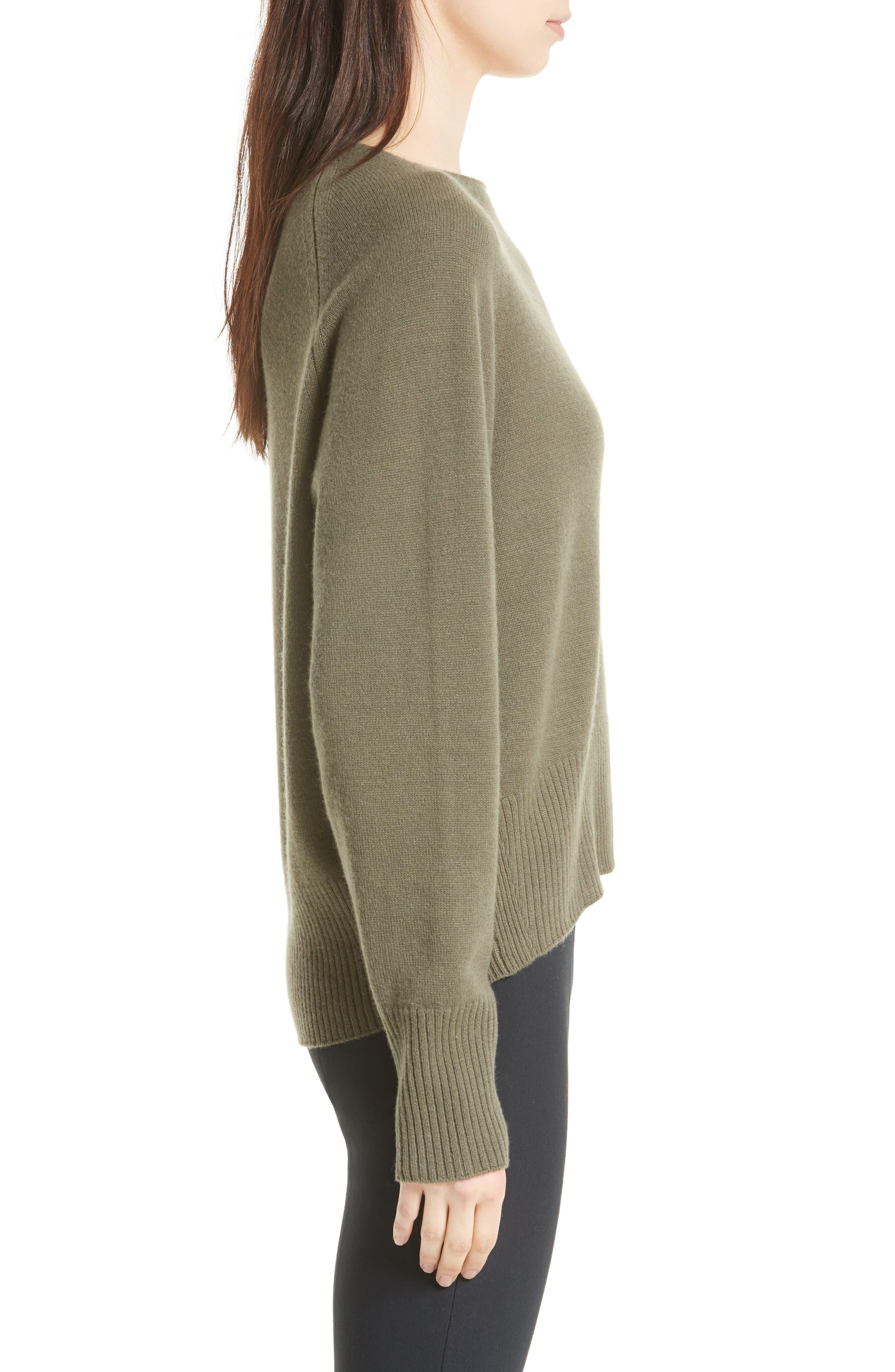 Alternate Image 3  - Vince Boat Neck Cashmere Sweater