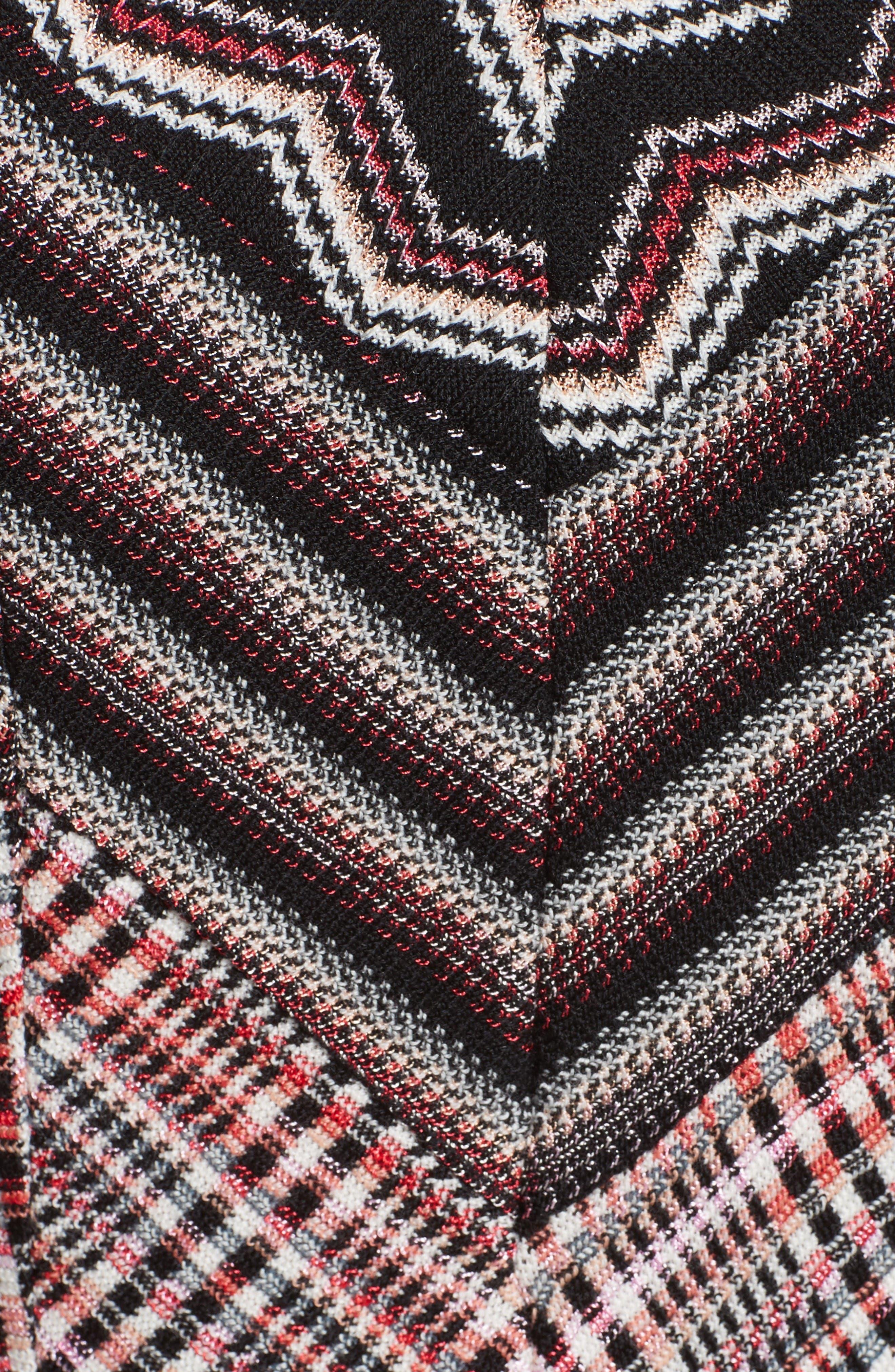 Alternate Image 3  - Missoni Patchwork Wool Blend Knit Dress