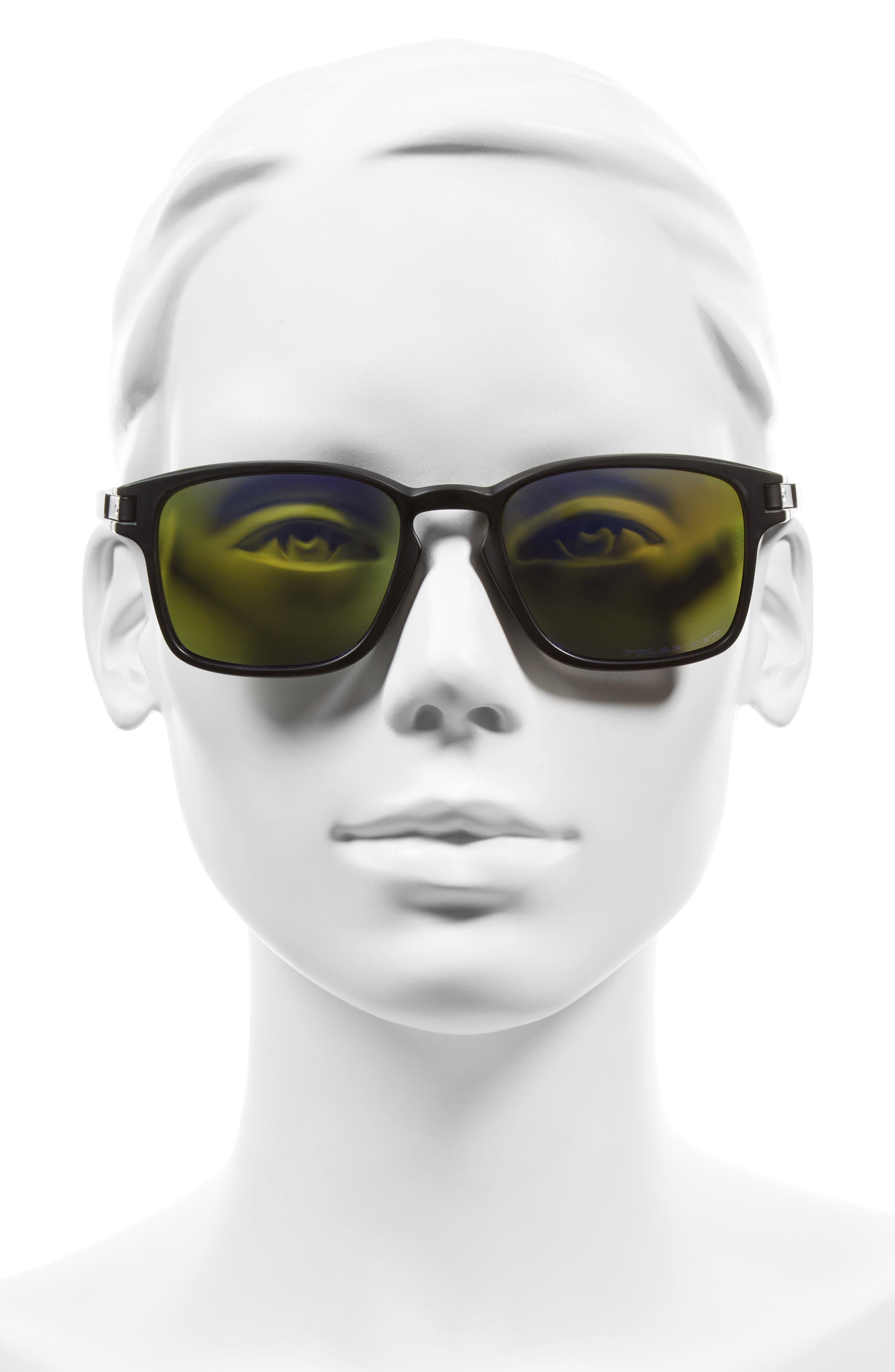 Alternate Image 2  - Oakley Latch 52mm Polarized Rectangular Sunglasses